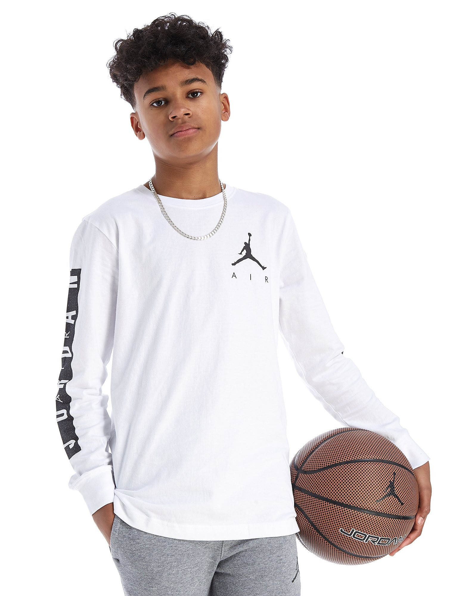 Jordan Air Jumpman Long Sleeve T-Shirt Junior