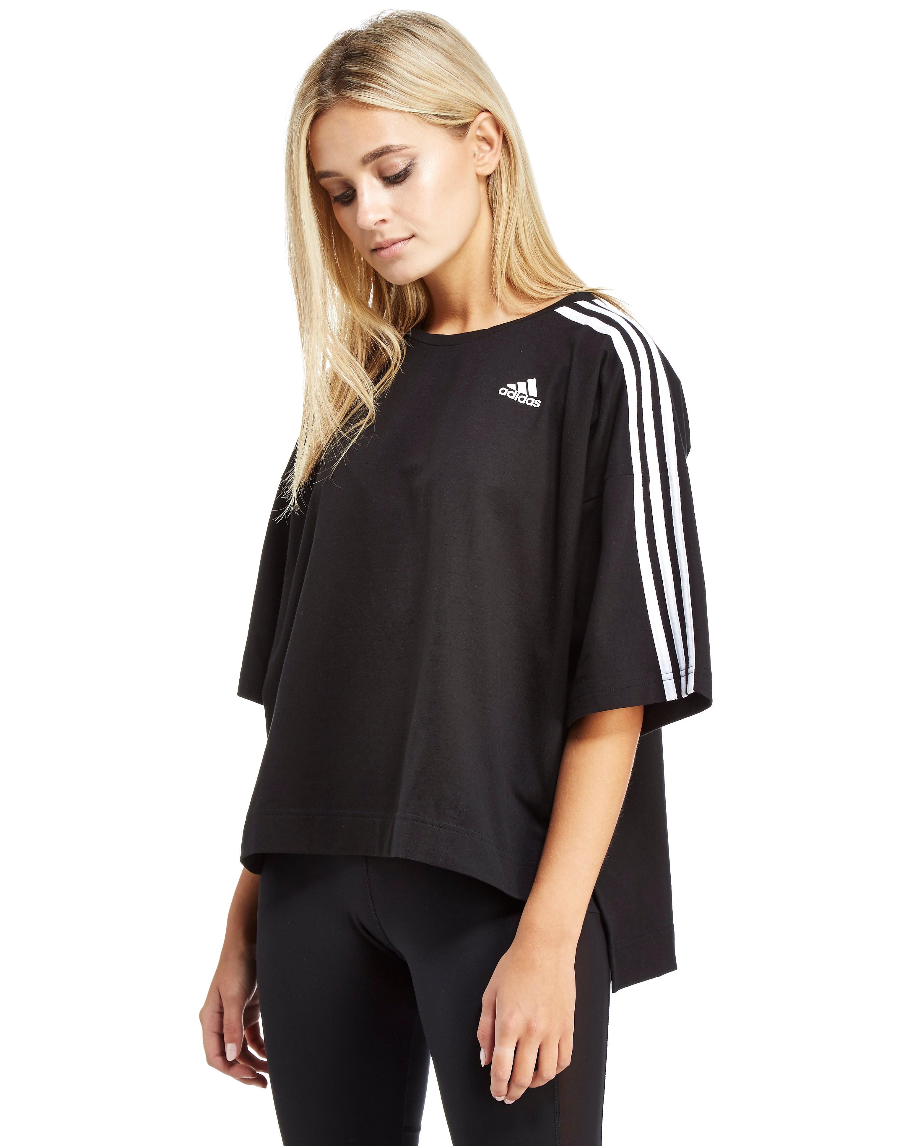 adidas Oversized 3-Stripes T-Shirt