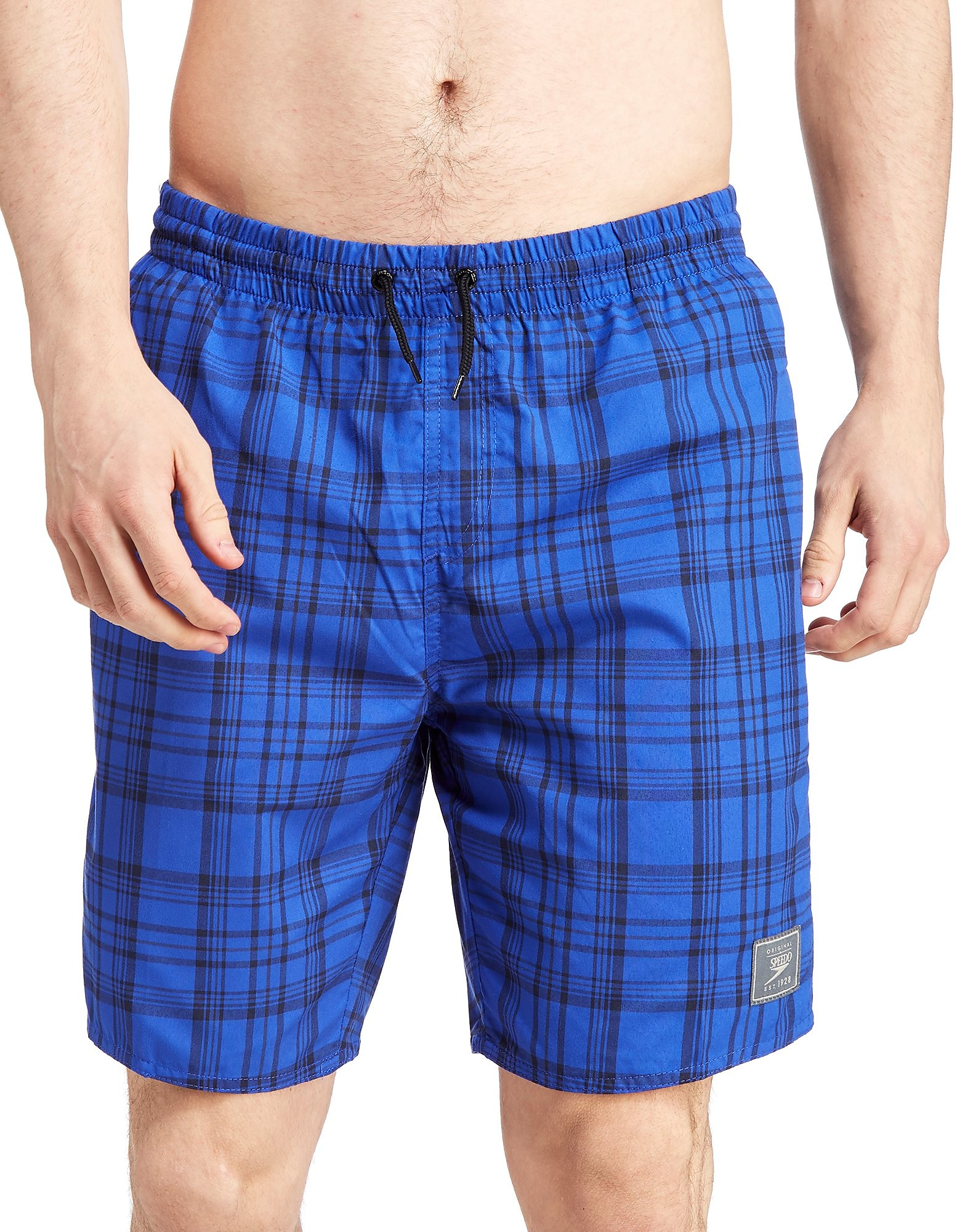 Speedo 18 Inch Check Swim Shorts