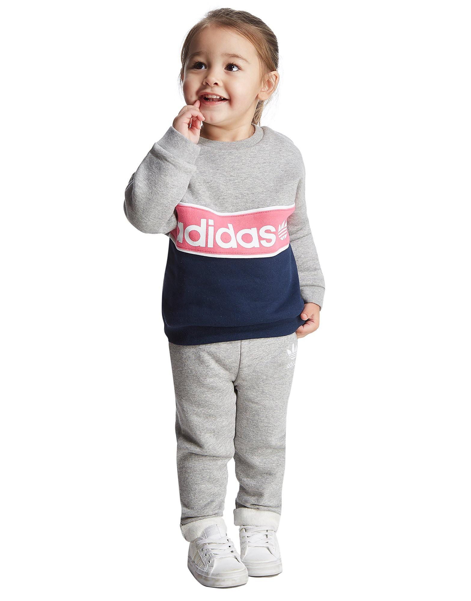adidas Originals Mädchen-Crew Suit für Kleinkinder