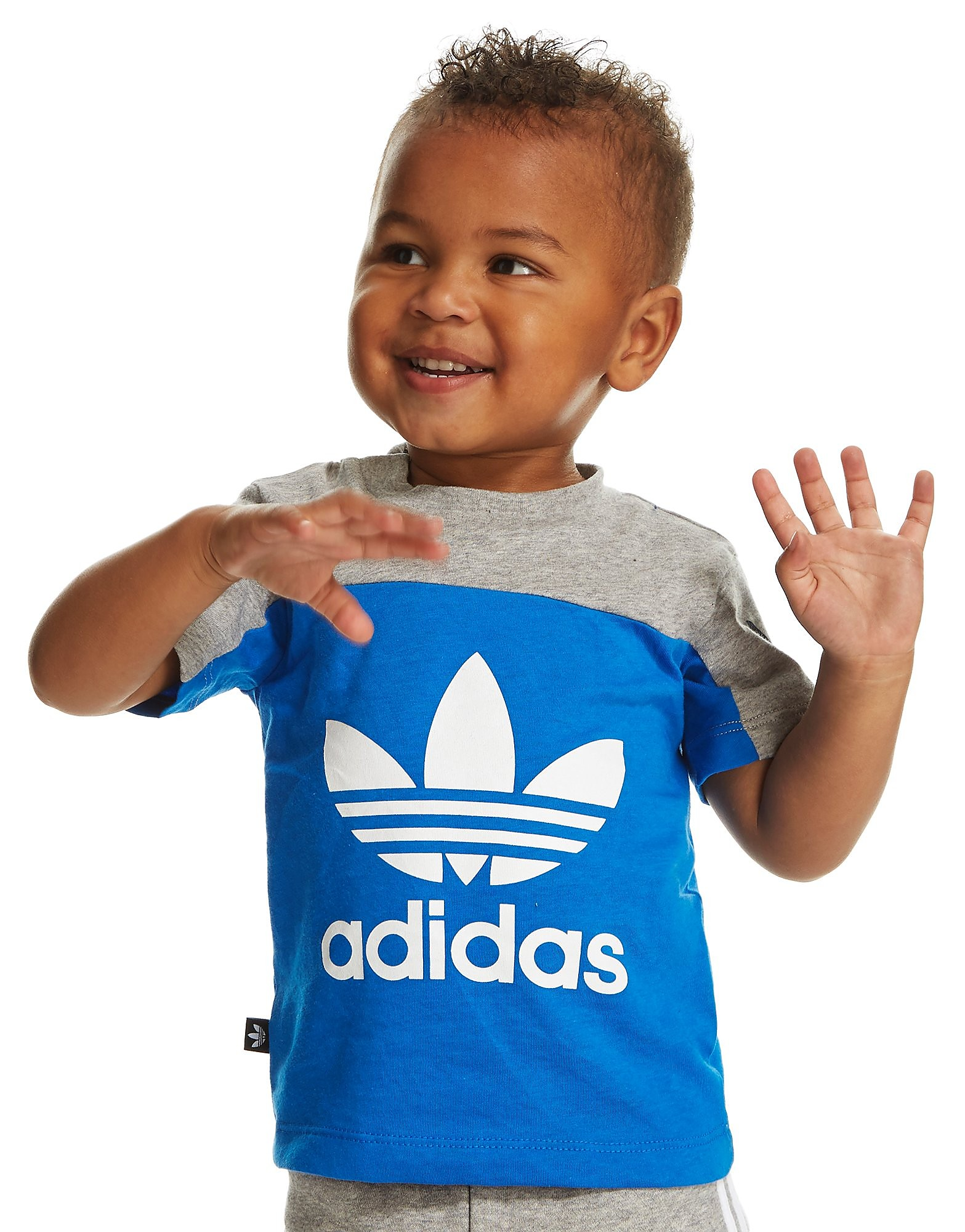 adidas Originals Trefoil Colour Block T-Shirt Infant