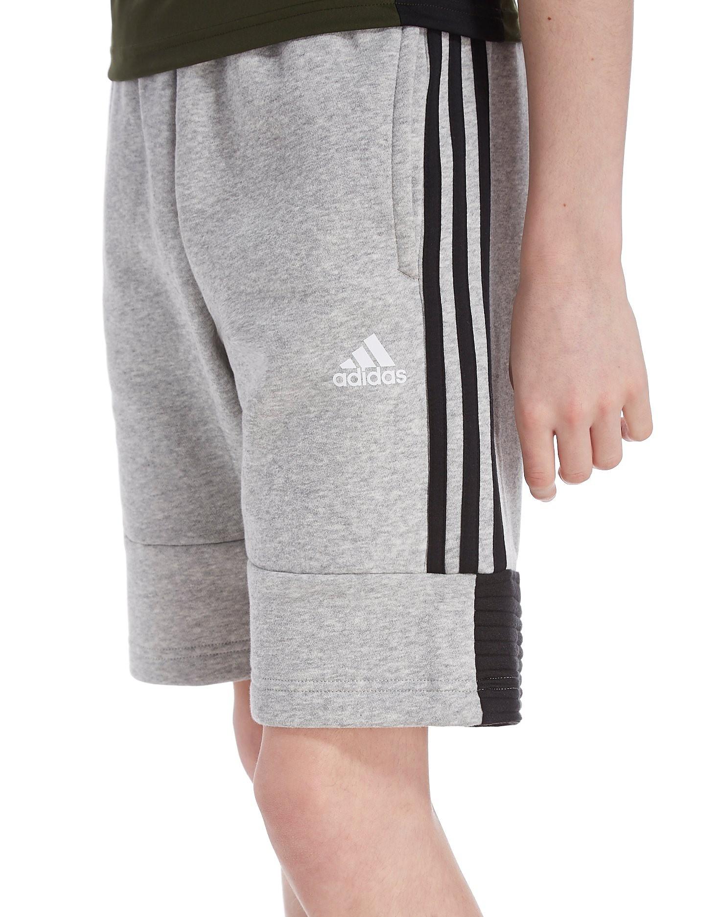 adidas Shorts Fleece SID - Grey/Black Kids Image