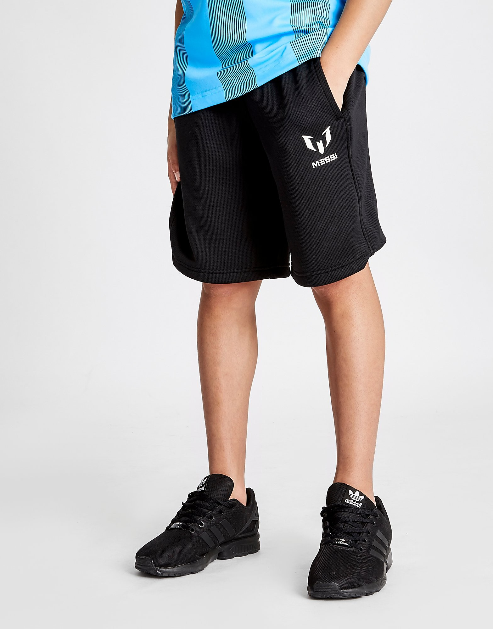 adidas Messi Woven Shorts Junior - Zwart - Kind