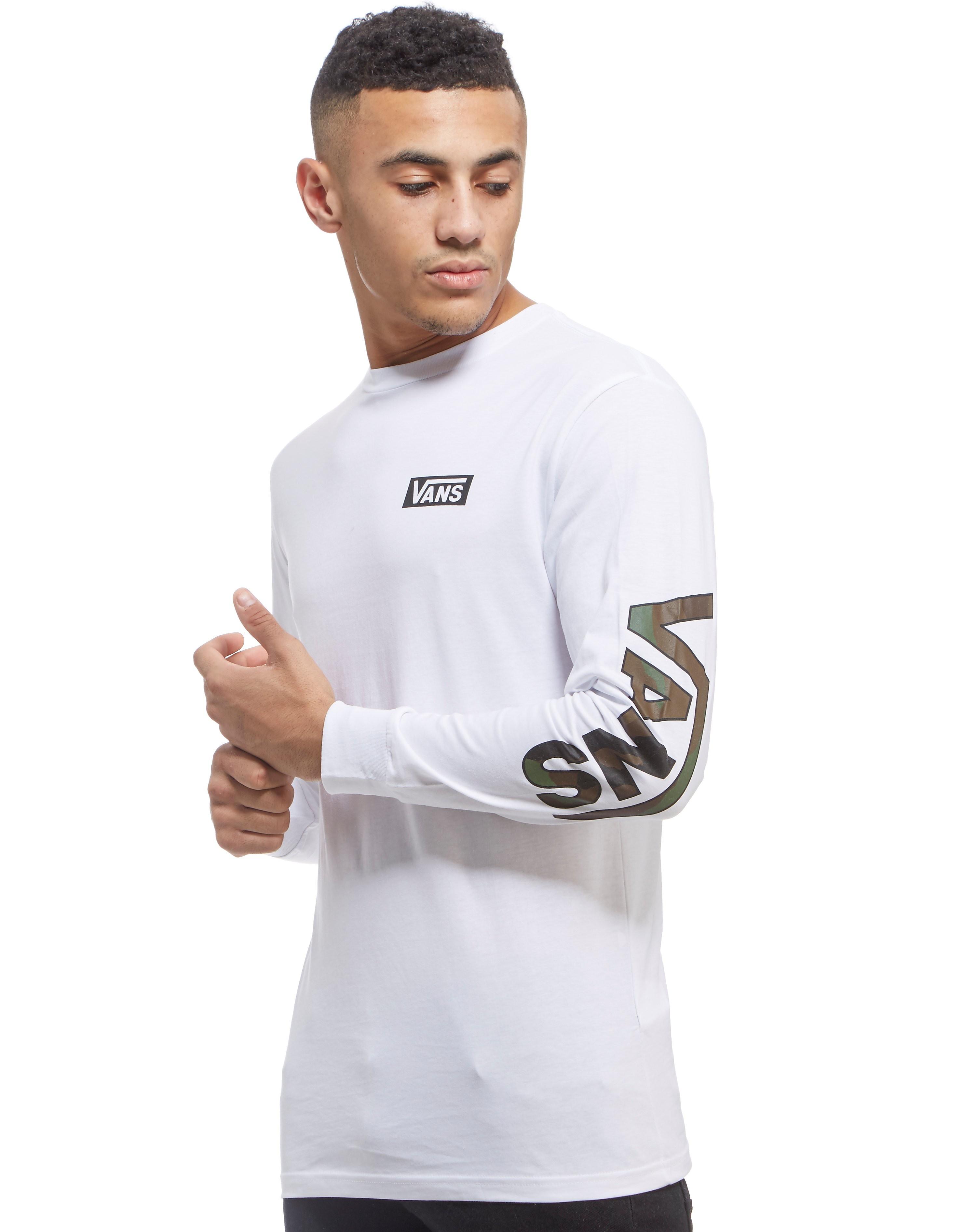 Vans Drop Logo Long Sleeve T-Shirt