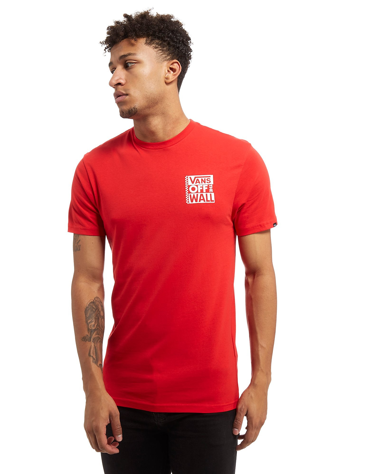 Vans Big Text Back Logo T-Shirt