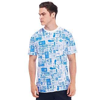 adidas Originals Badge All Over Print T-Shirt