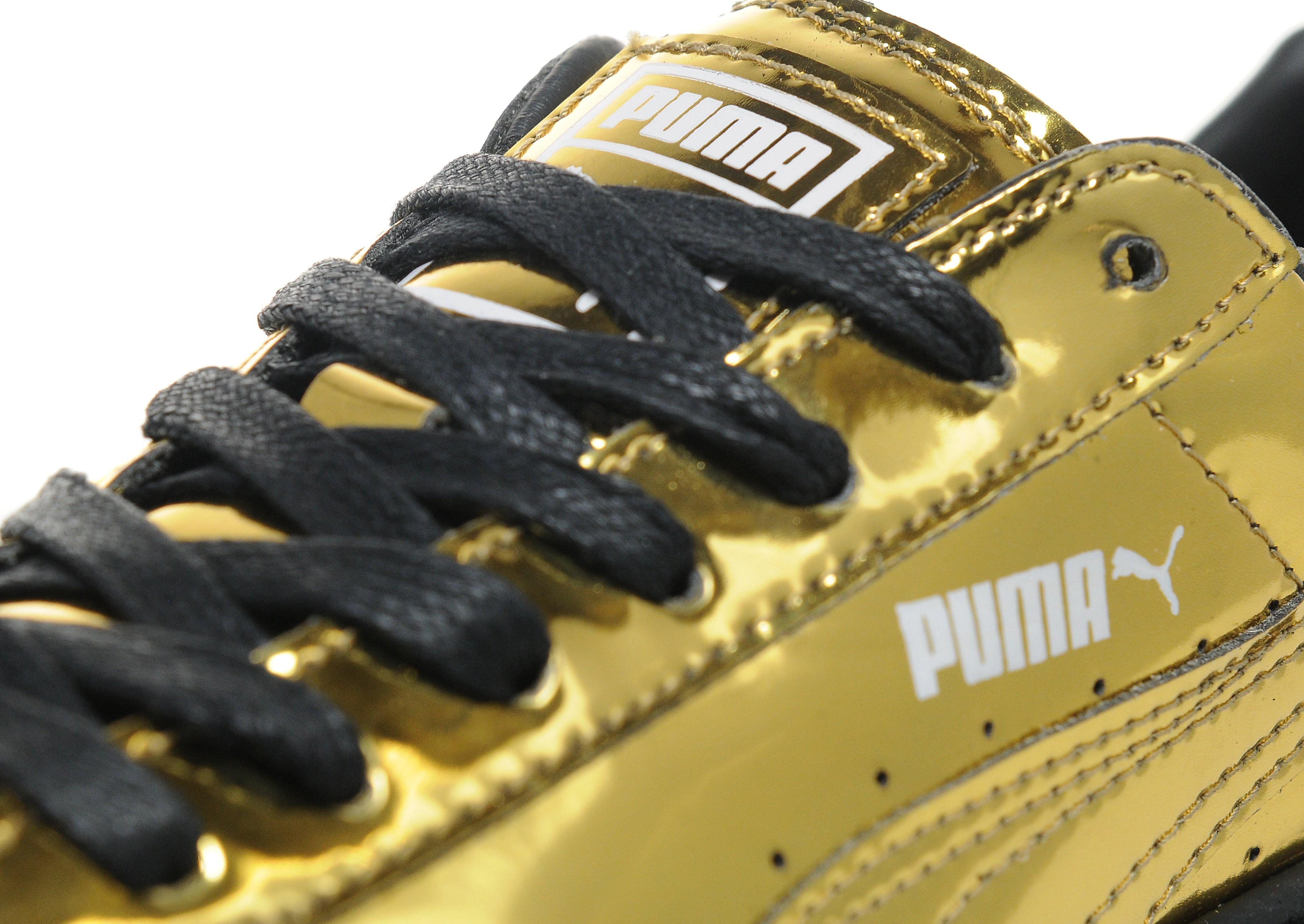 PUMA Basket Platform Metallic dames