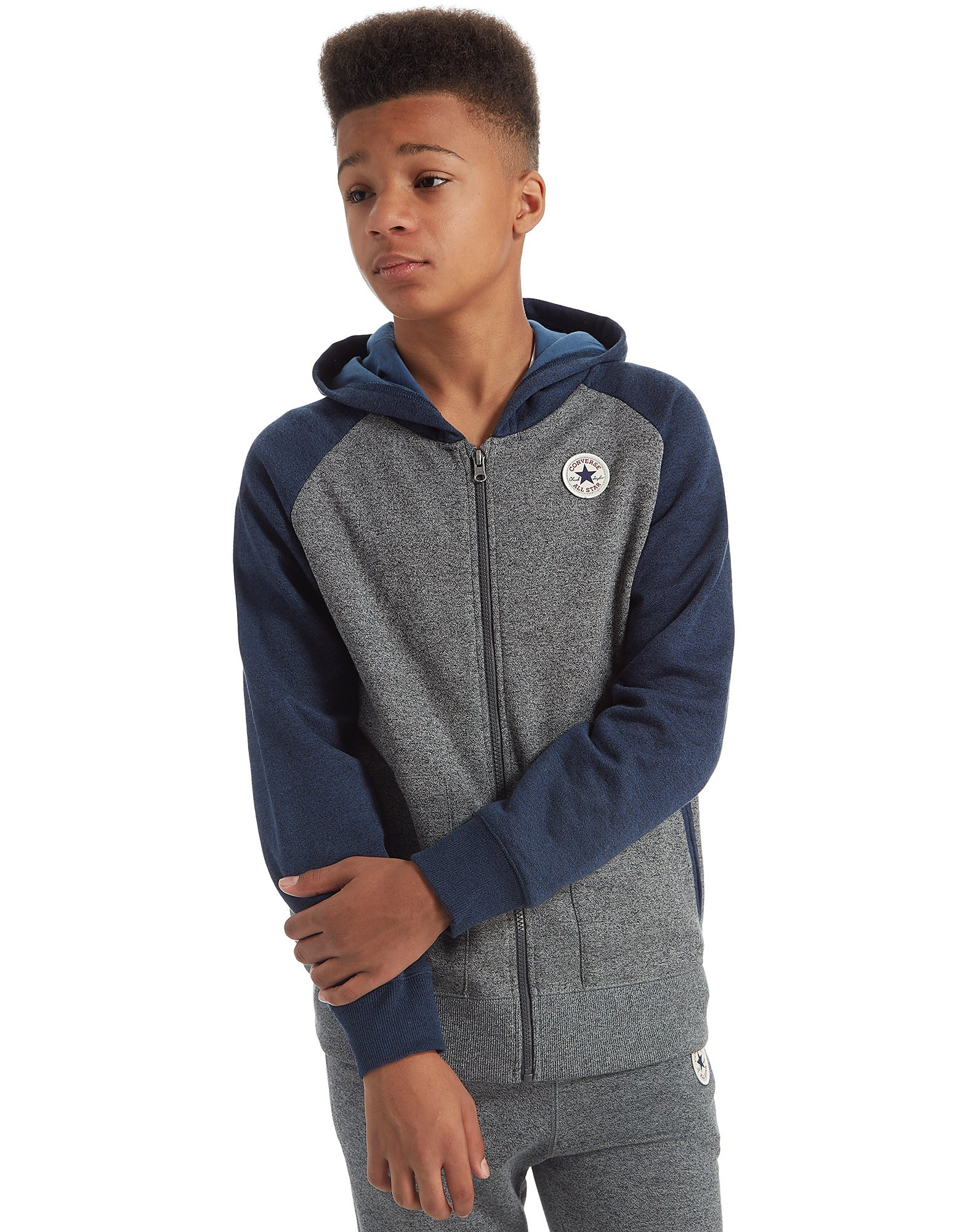 Converse Chuck Raglan Full Zip Hoody Junior