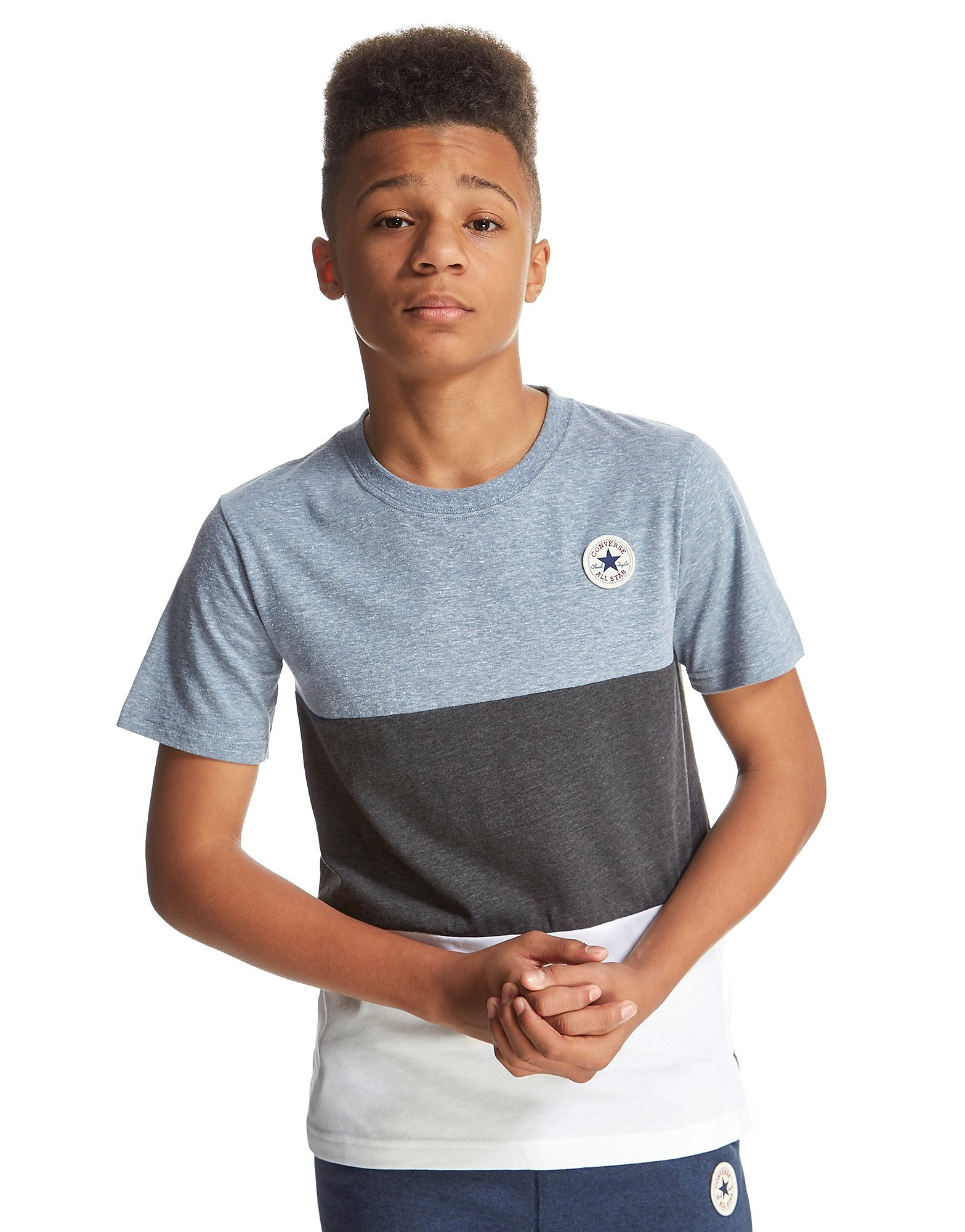 Converse Colour Block T-Shirt Junior