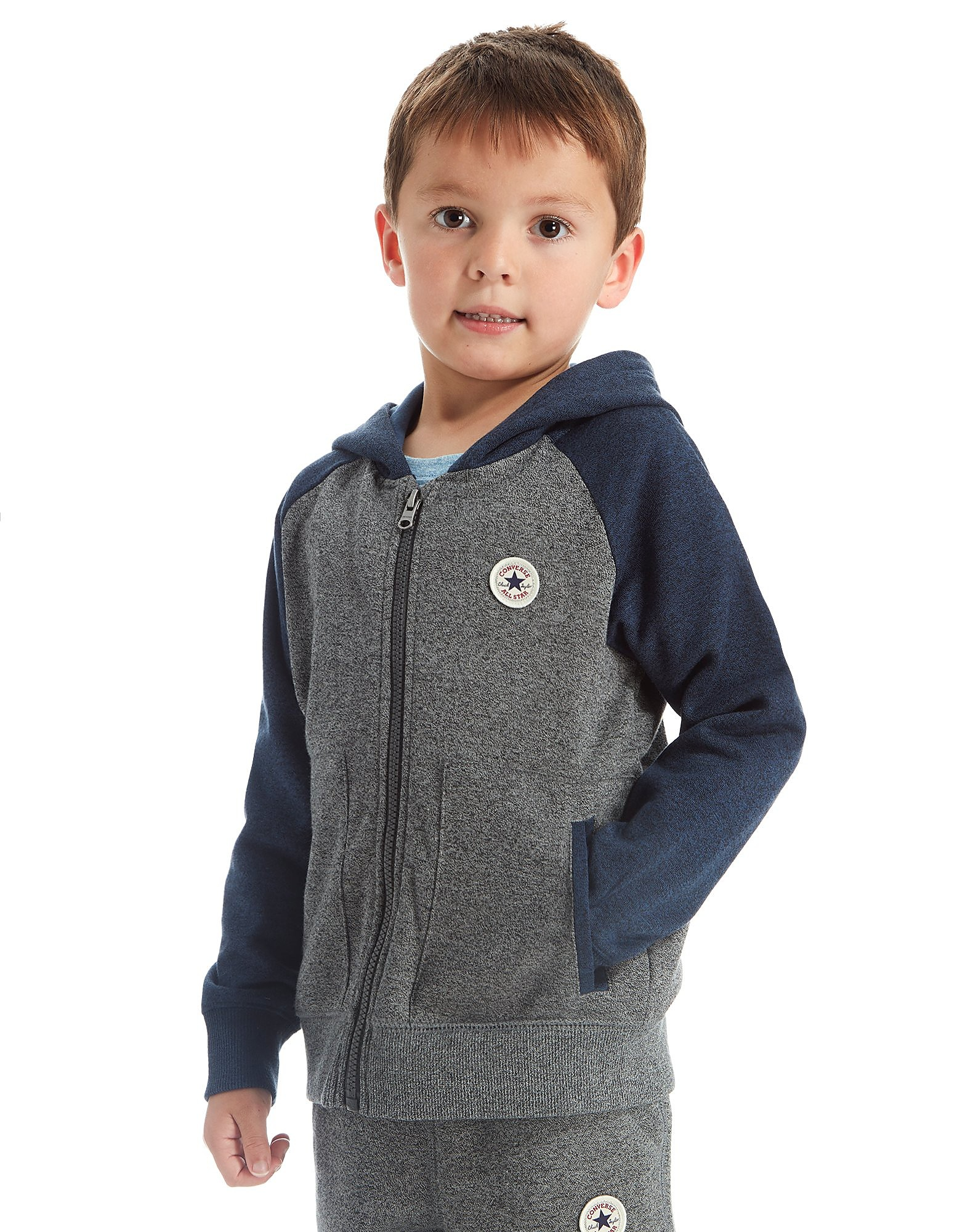 Converse Raglan Full Zip Hoody Children