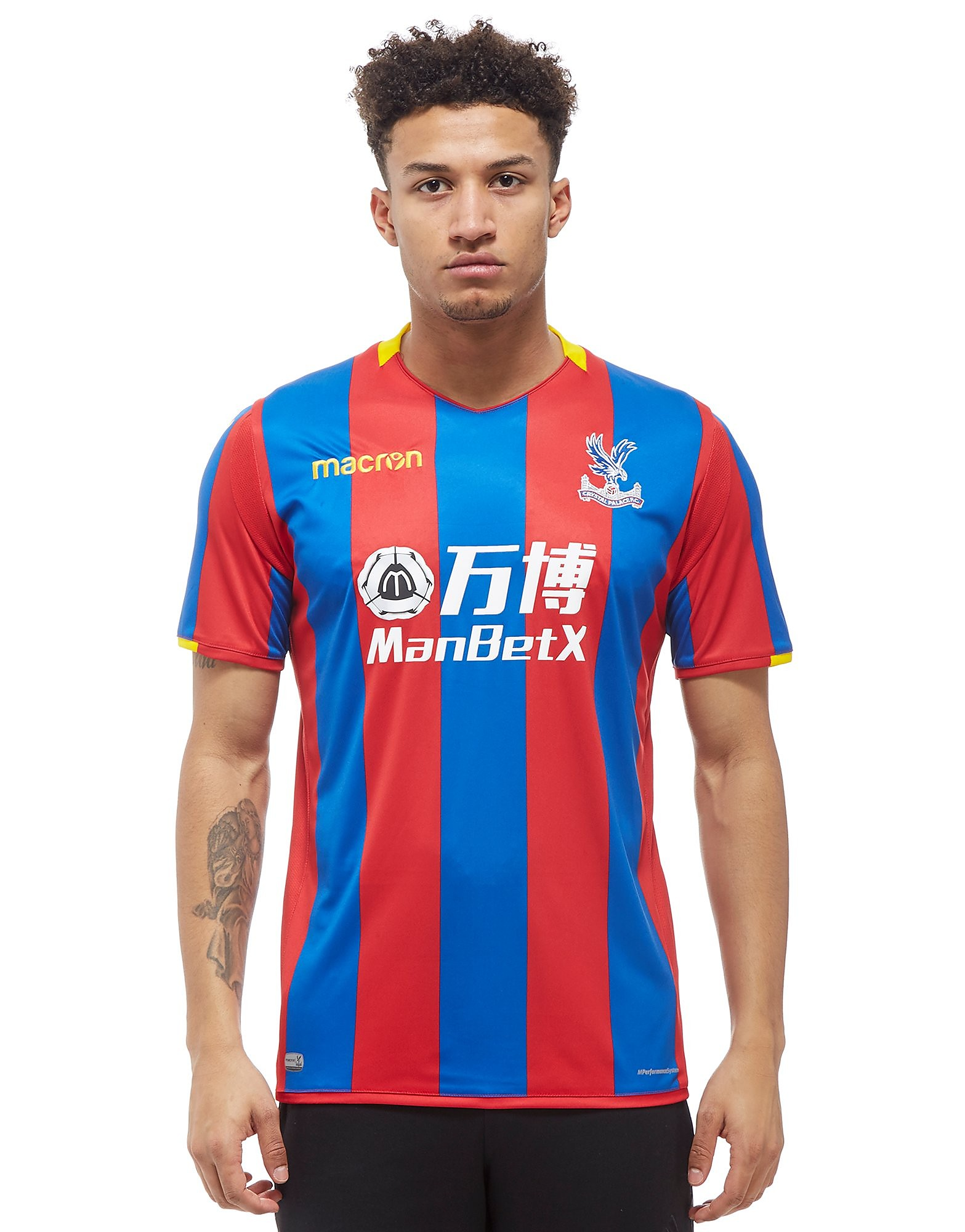 Macron Crystal Palace FC 2017/18 Home Shirt