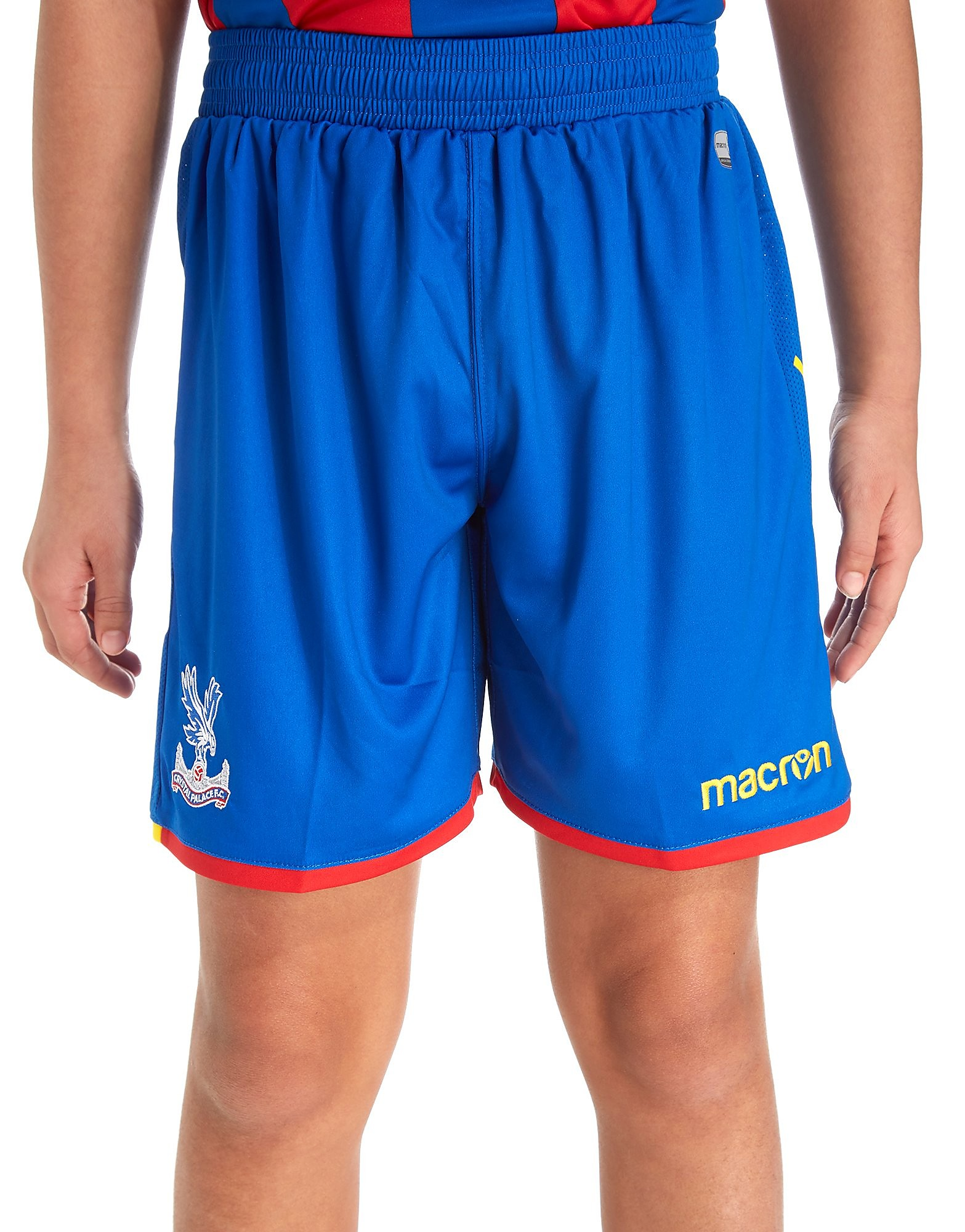 Macron Crystal Palace FC Home 17/18 Shorts Junior - Blue, Blue