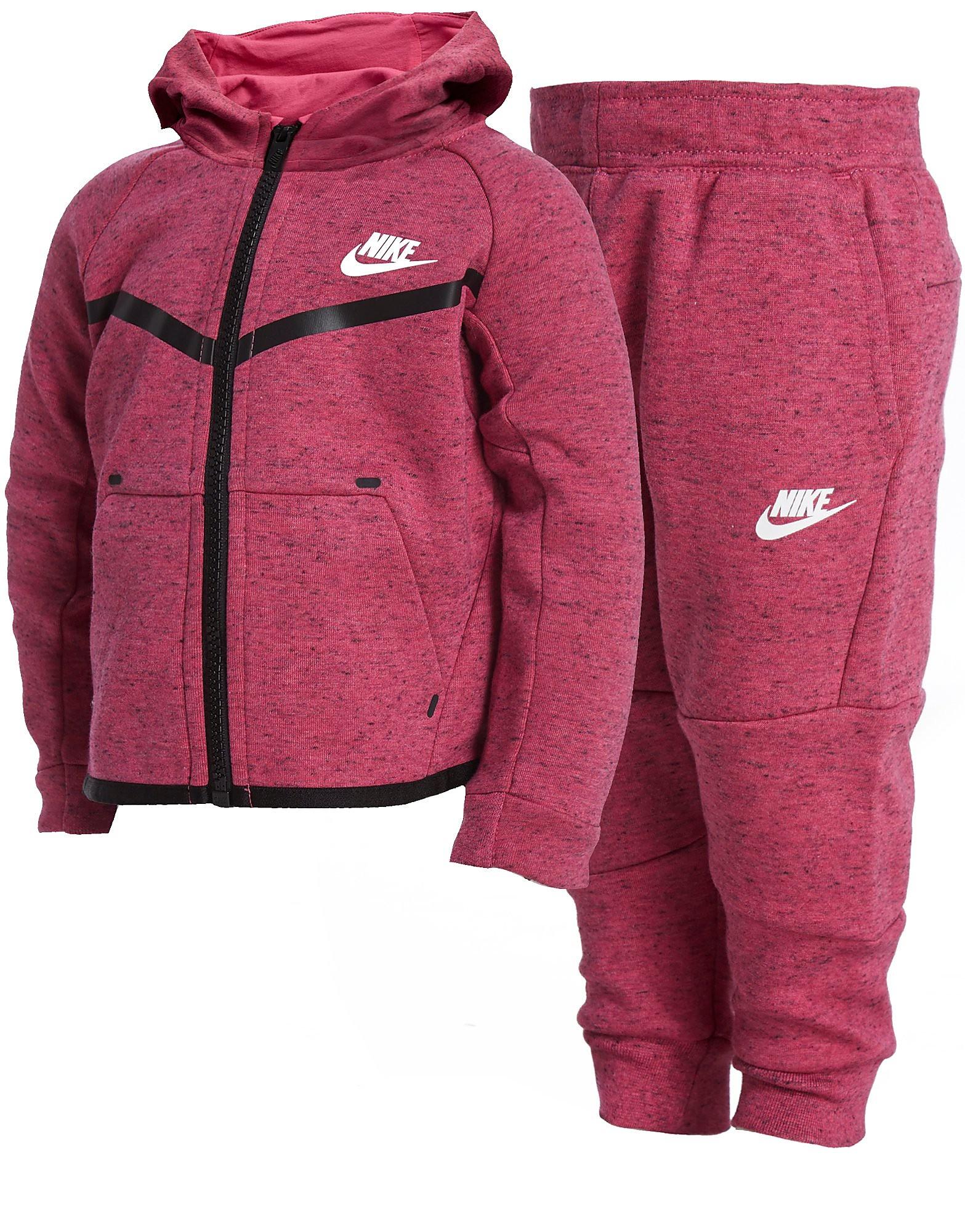 Nike Girls  Tech Fleece Suit Infant - Pink White - Kids - Sports ... c73d7a1d4733