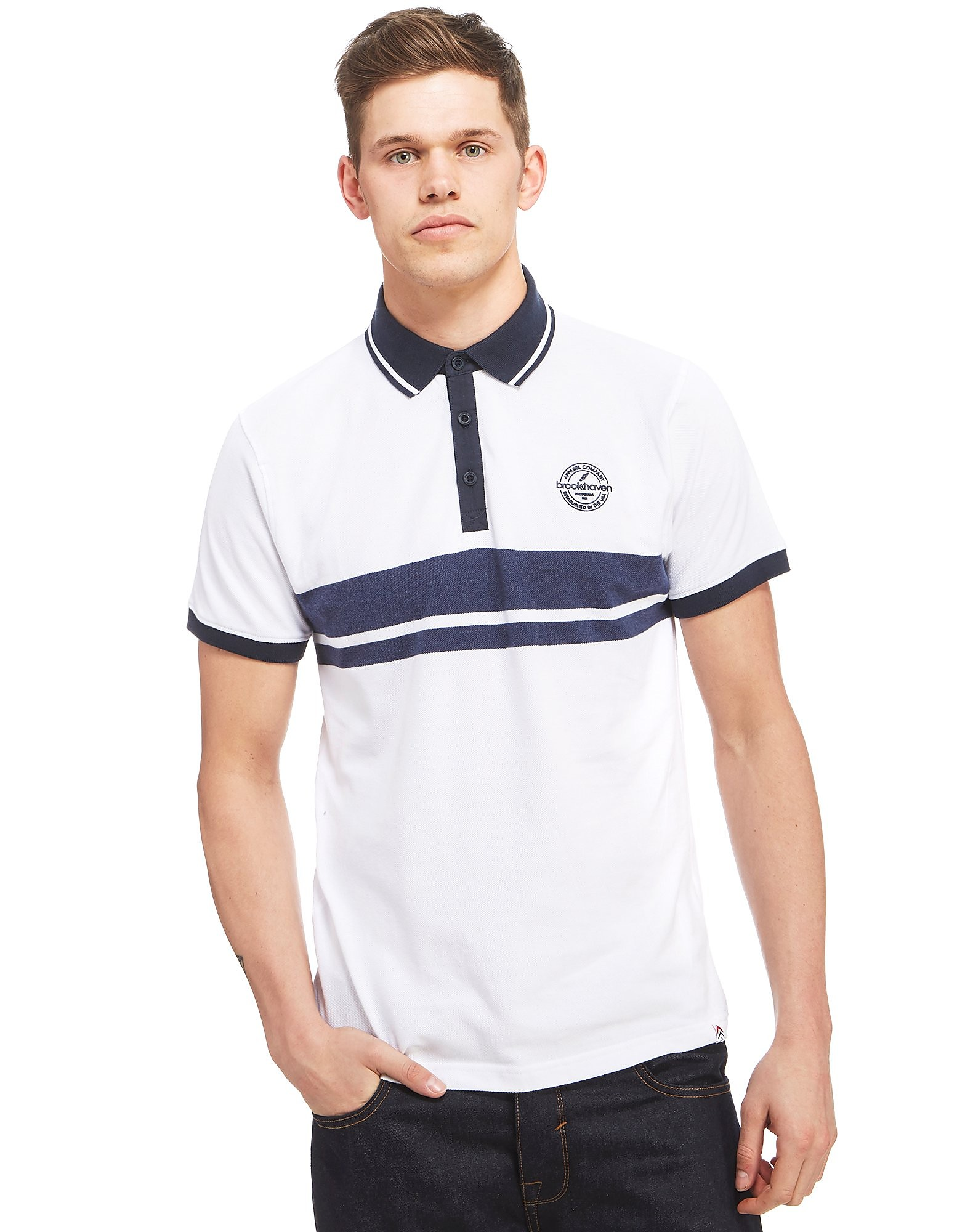 Brookhaven Marl Stripe Polo Shirt