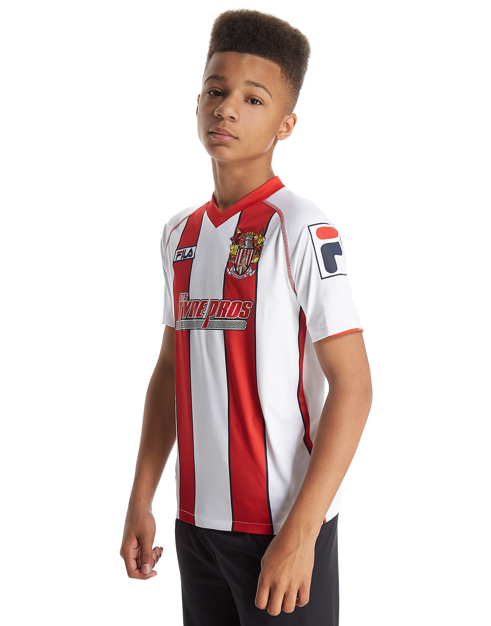 Fila Stevenage 2014 Junior Home Shirt