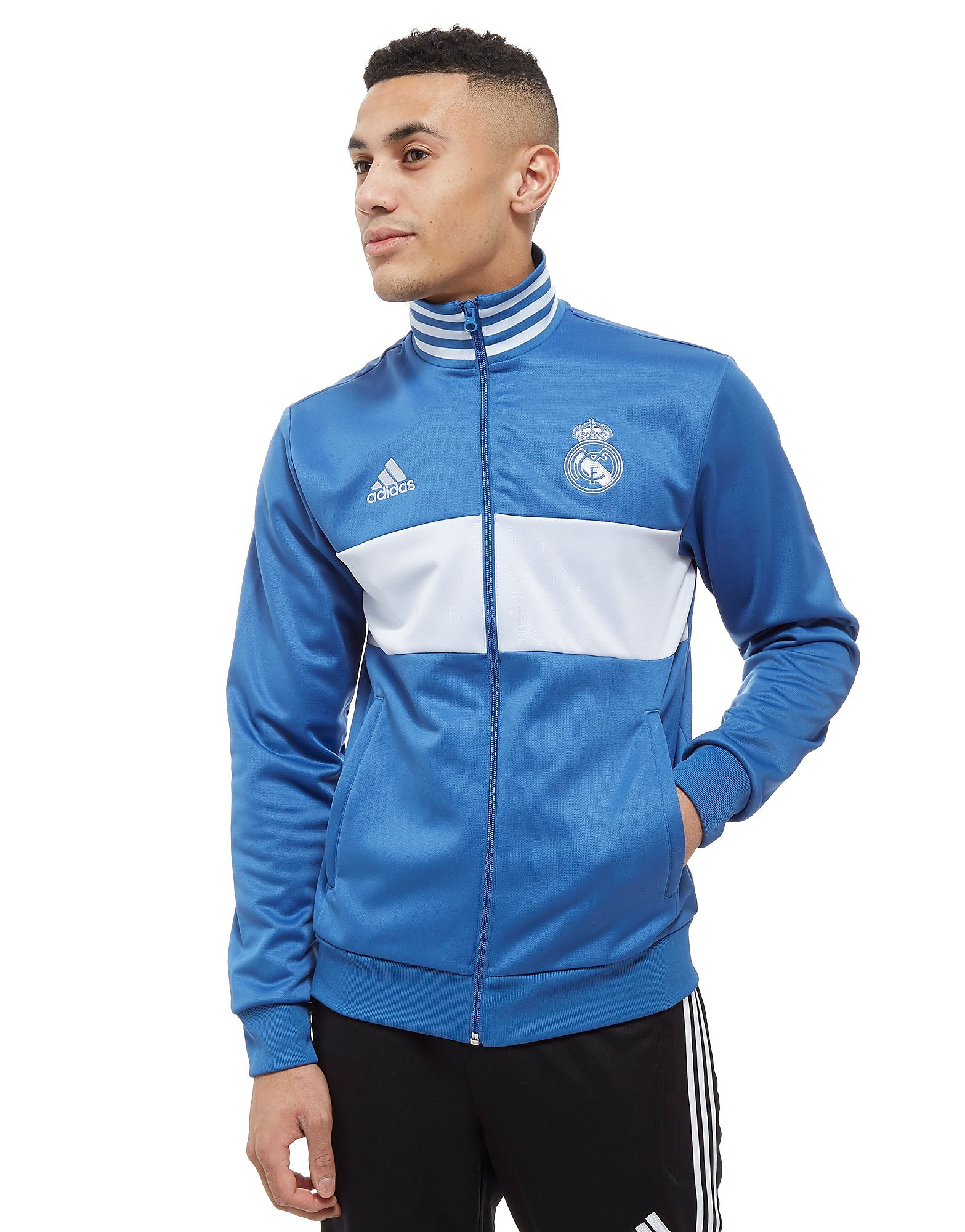 adidas Real Madrid 3-Stripes Track Top Heren