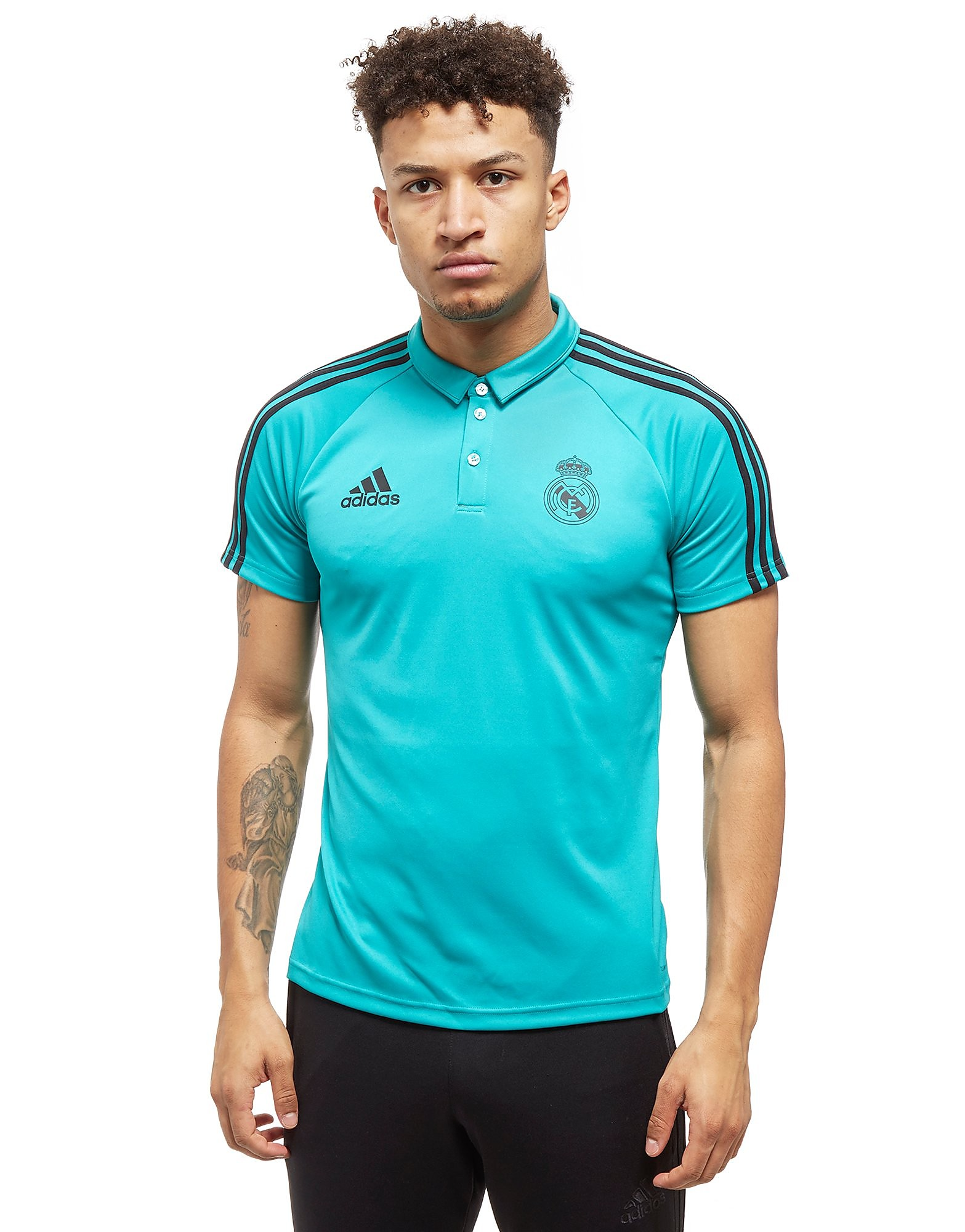 adidas Real Madrid Polo Shirt Heren