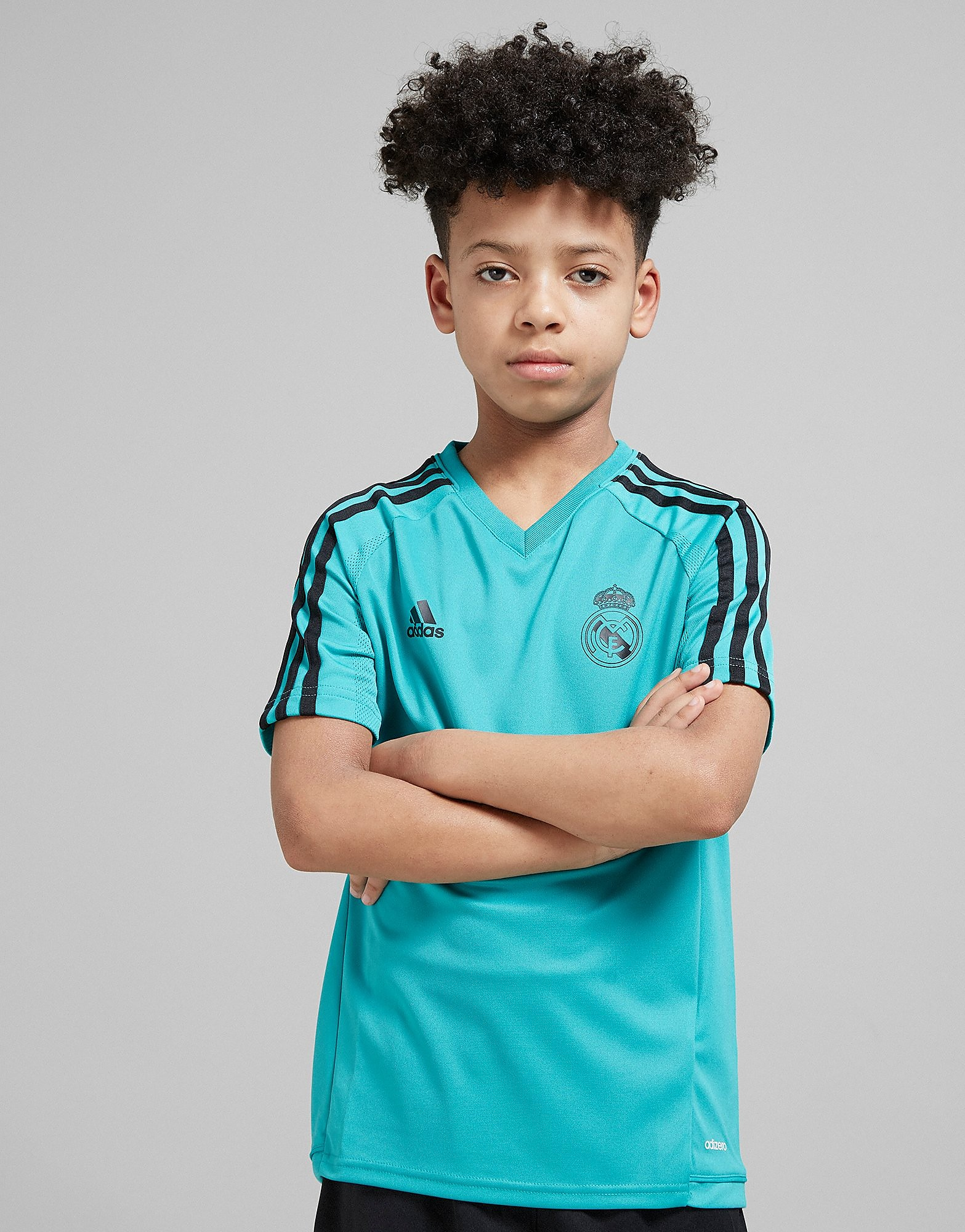 adidas Real Madrid 2018 Training Shirt Junior