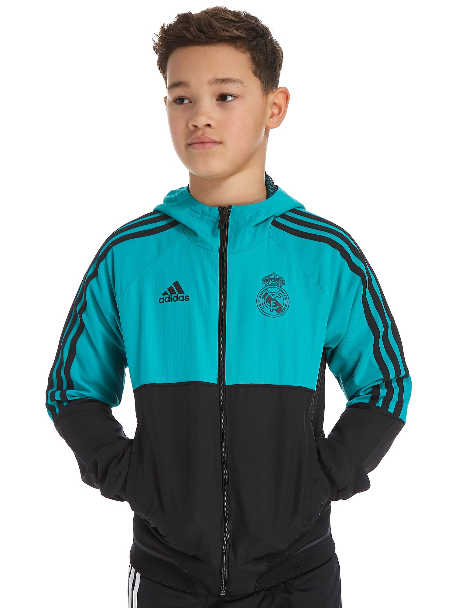 adidas Real Madrid Presentation Jacket Junior