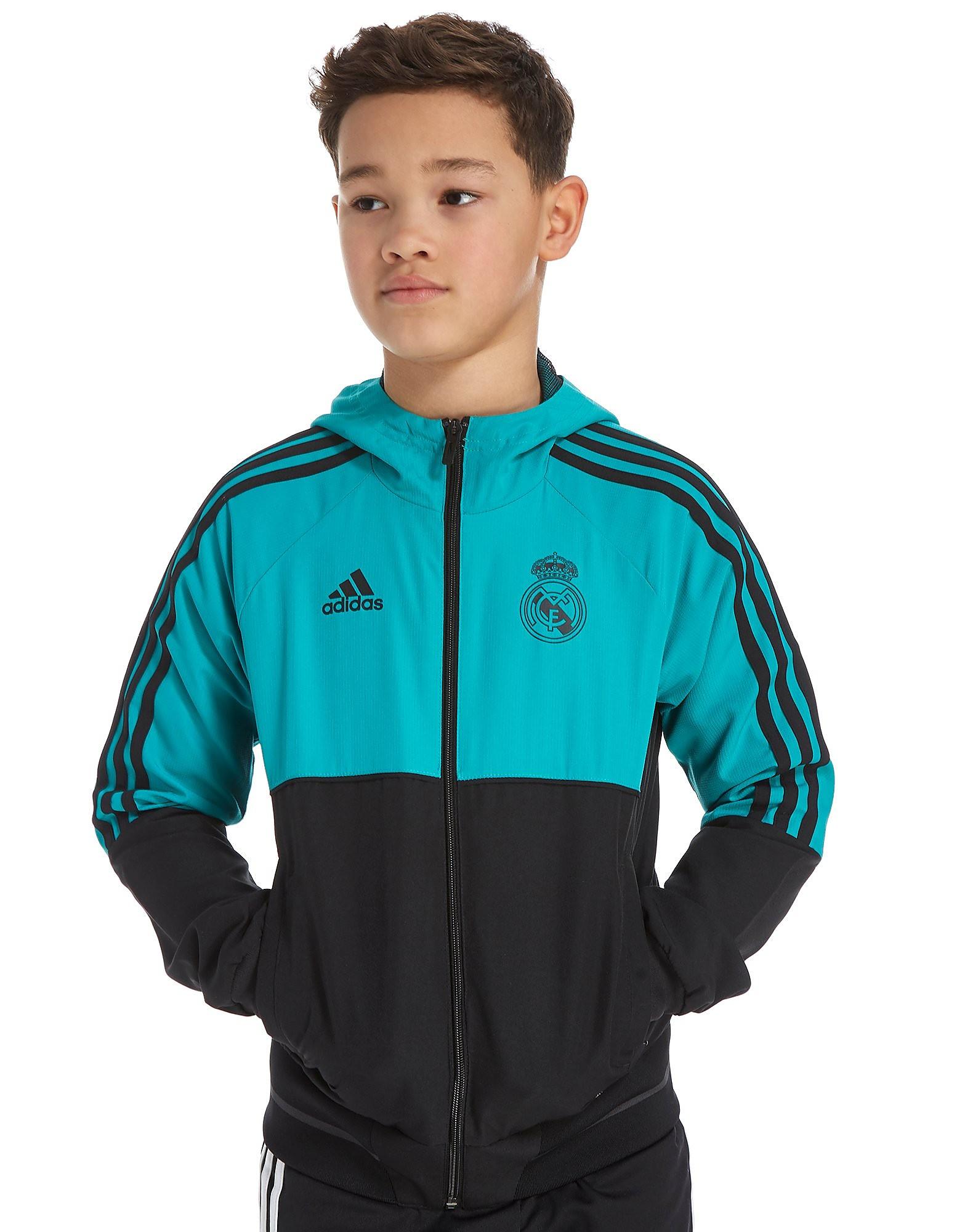 adidas Real Madrid Presentation Jacket Junior