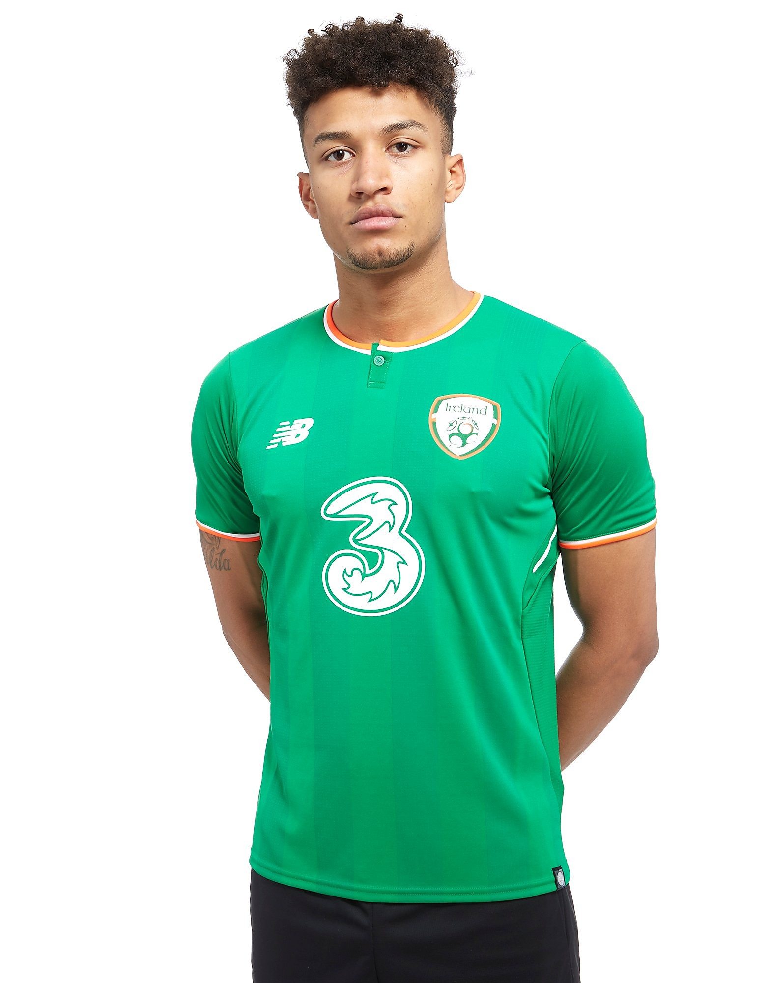 New Balance Republic of Ireland 2017/18 Home Shirt