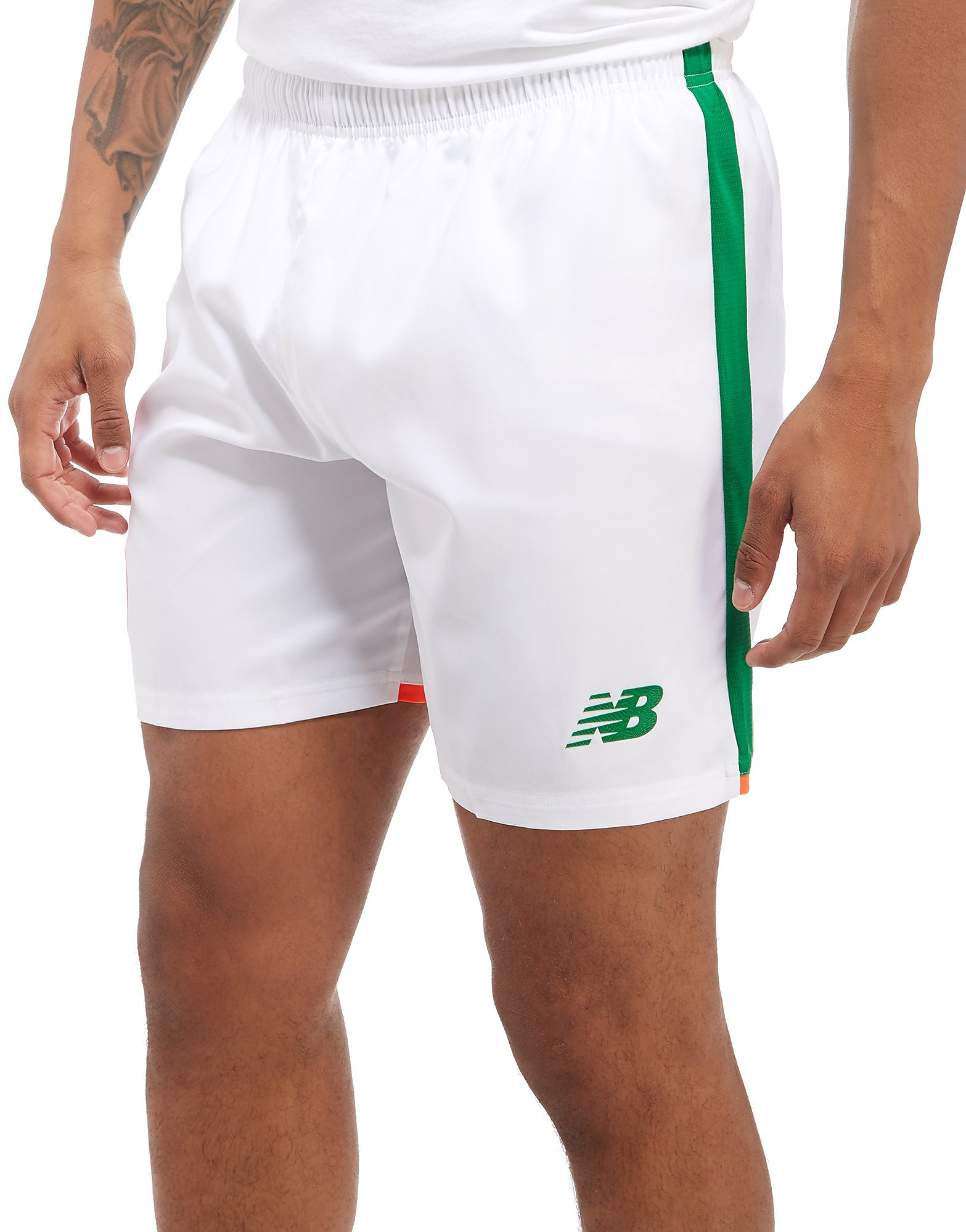 New Balance Republic of Ireland 2017/18 Home Shorts