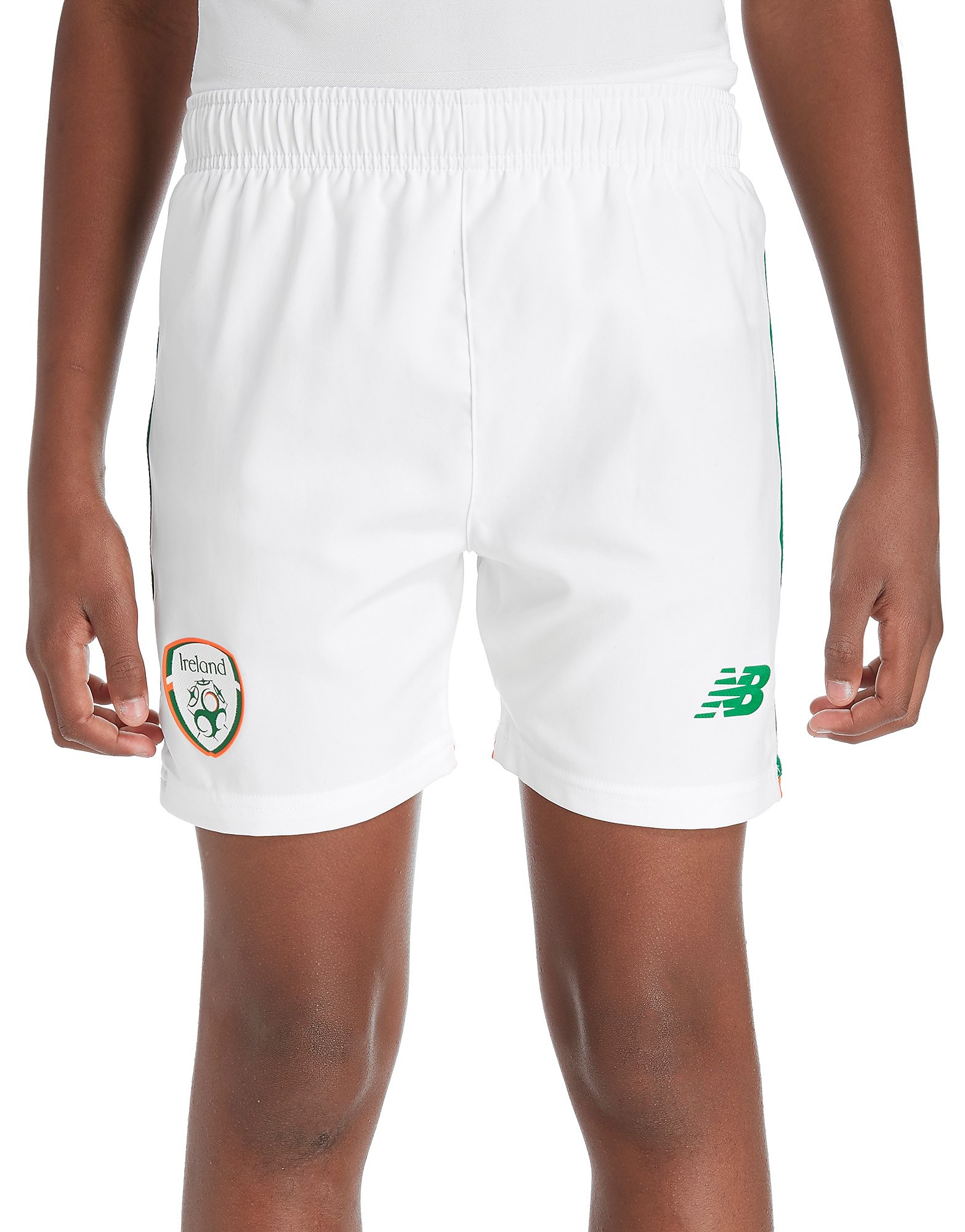 New Balance Republic of Ireland 2017/18 Home Shorts Junior