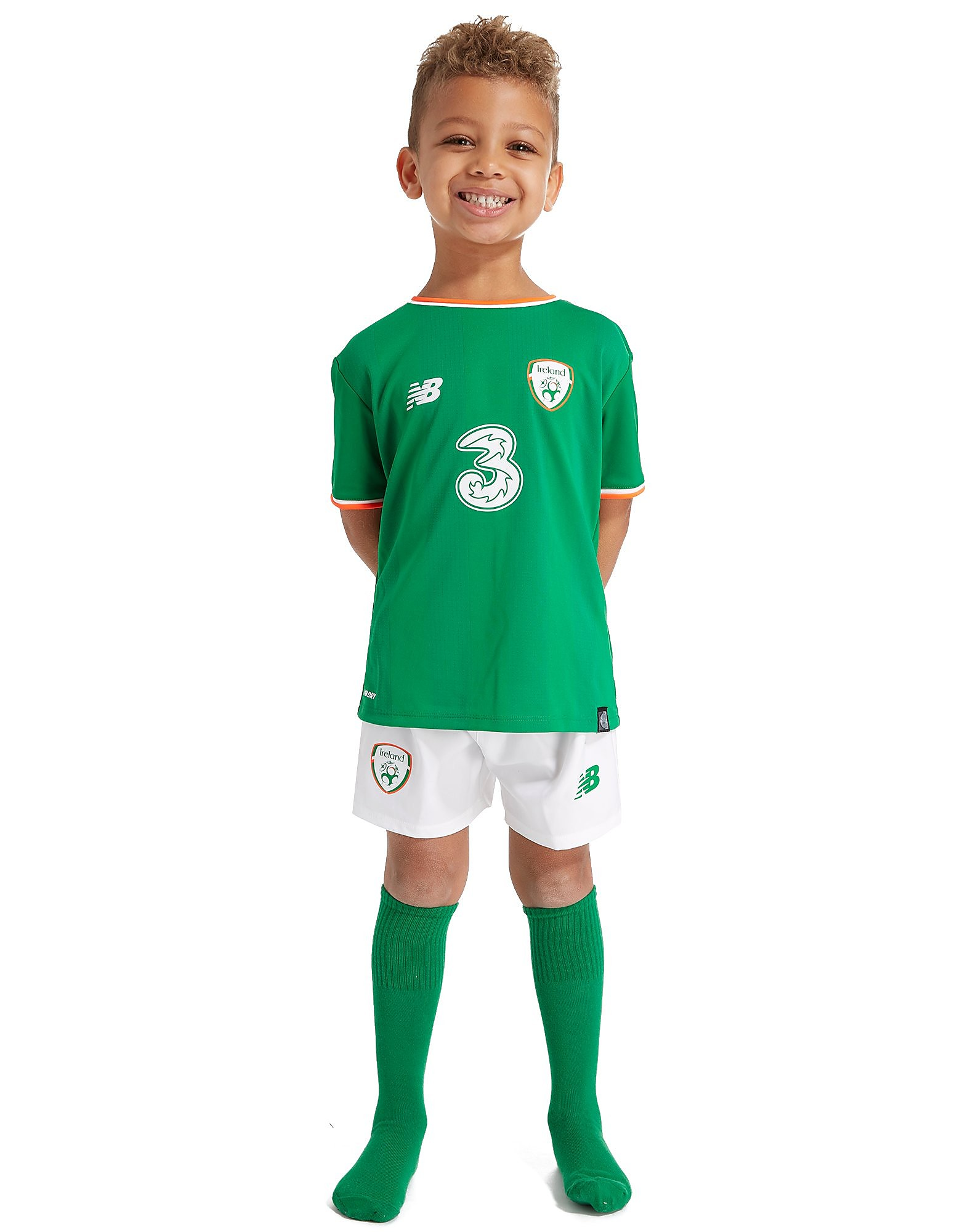 New Balance Republic of Ireland 2017/18 Home Kit Children PRE