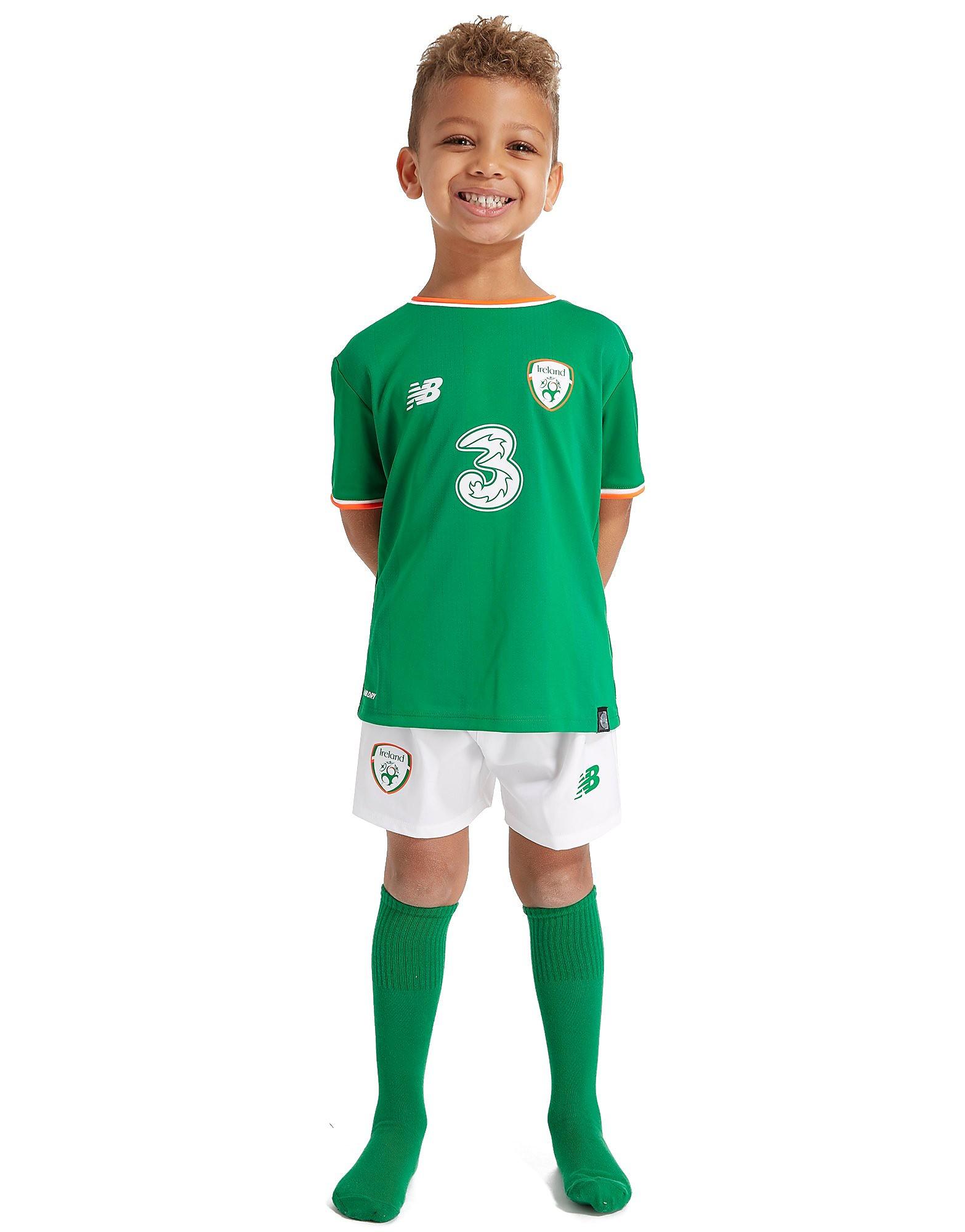 New Balance Republic of Ireland 2017/18 Home Kit Children PRE