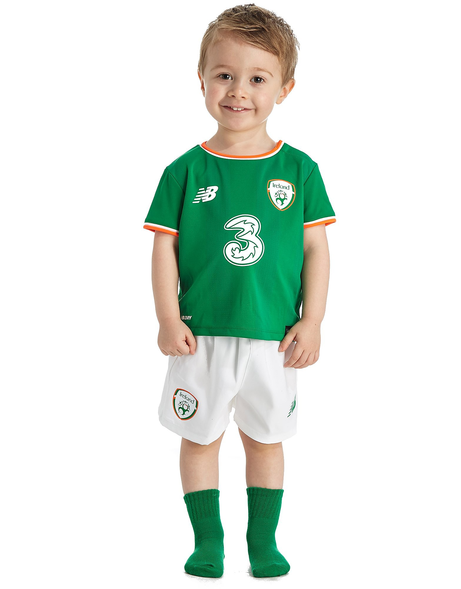 New Balance Republic of Ireland 2017/18 Home Kit Baby's
