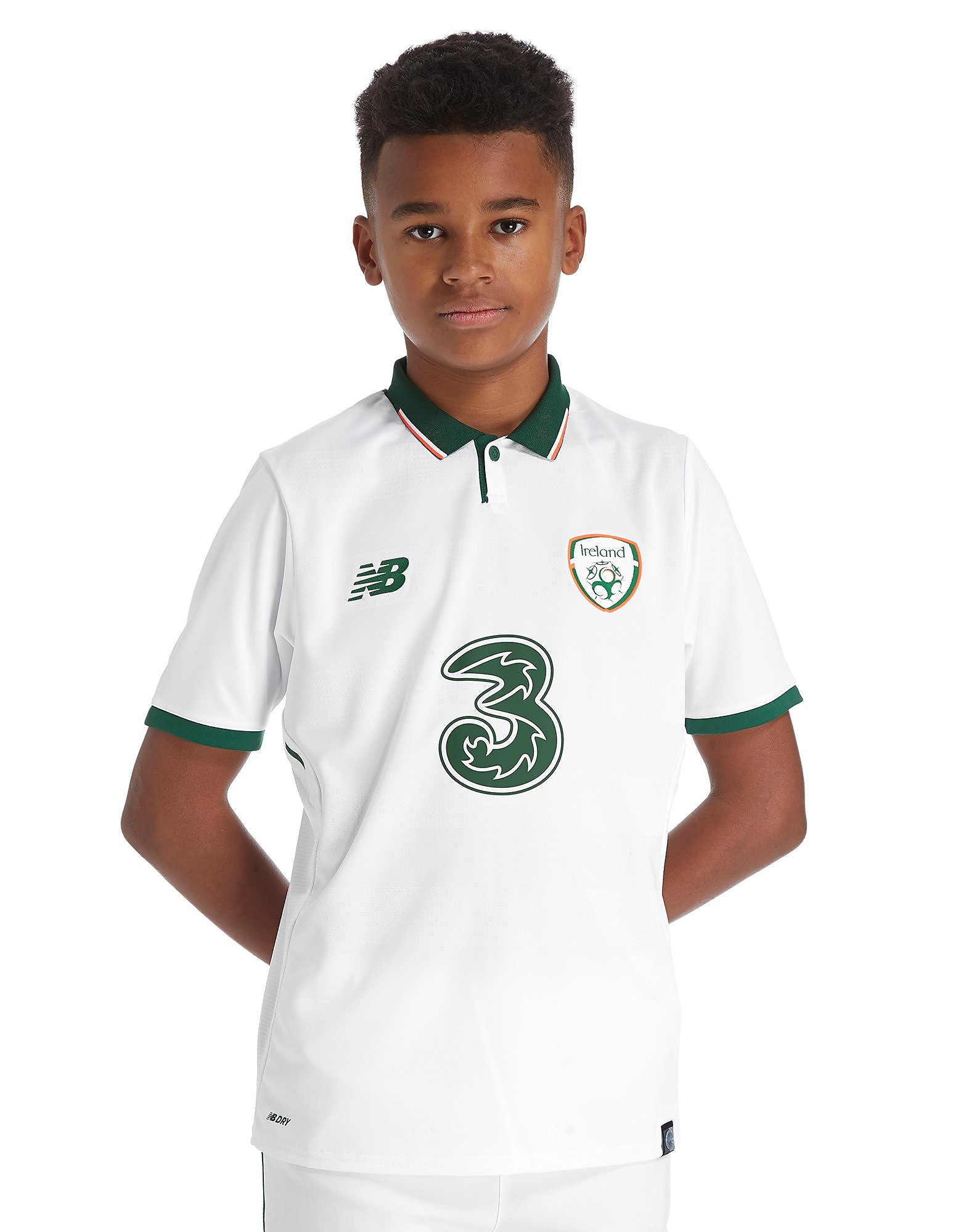 New Balance Republic of Ireland Away Shirt Junior