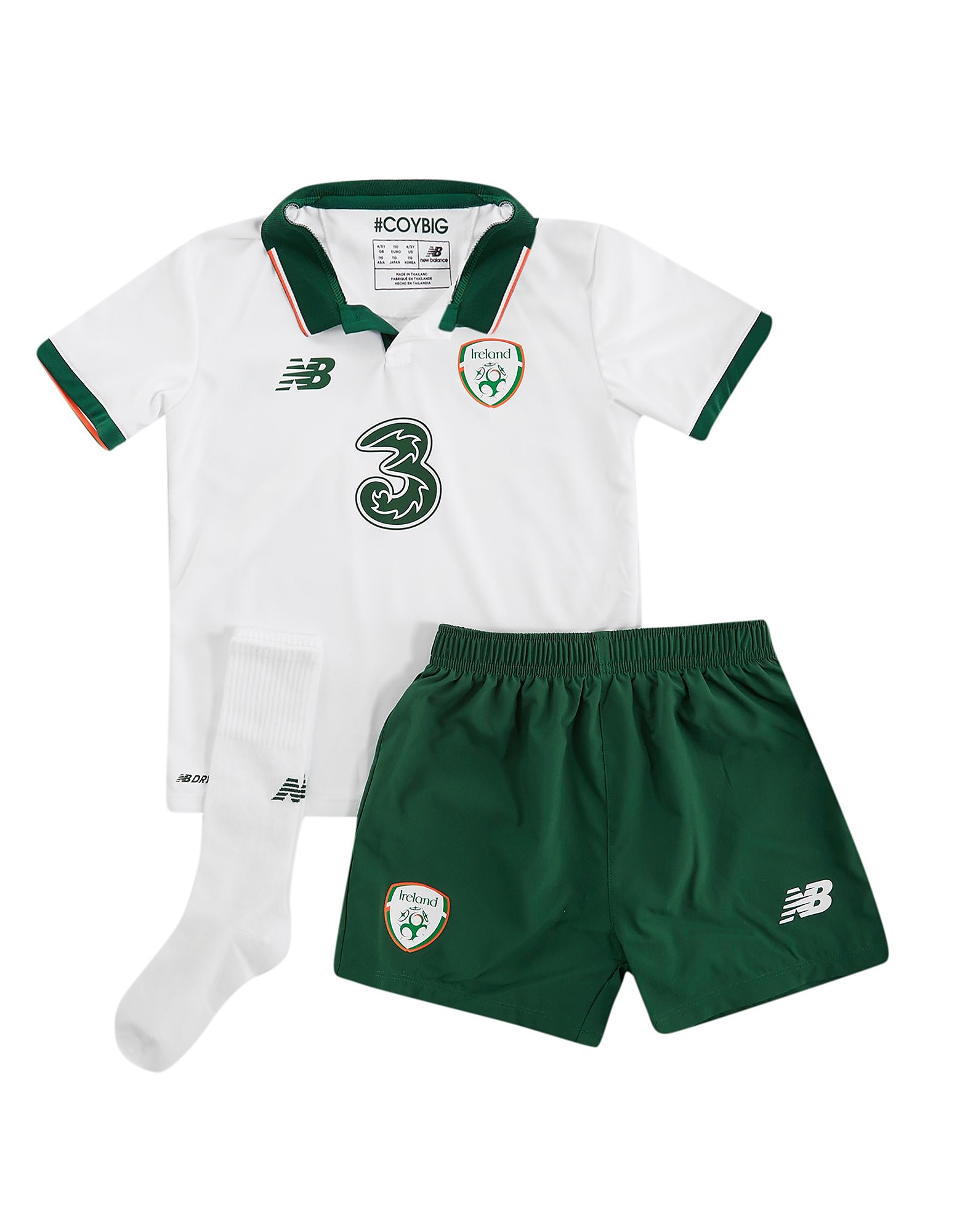 New Balance Republic of Ireland Away Kit Children