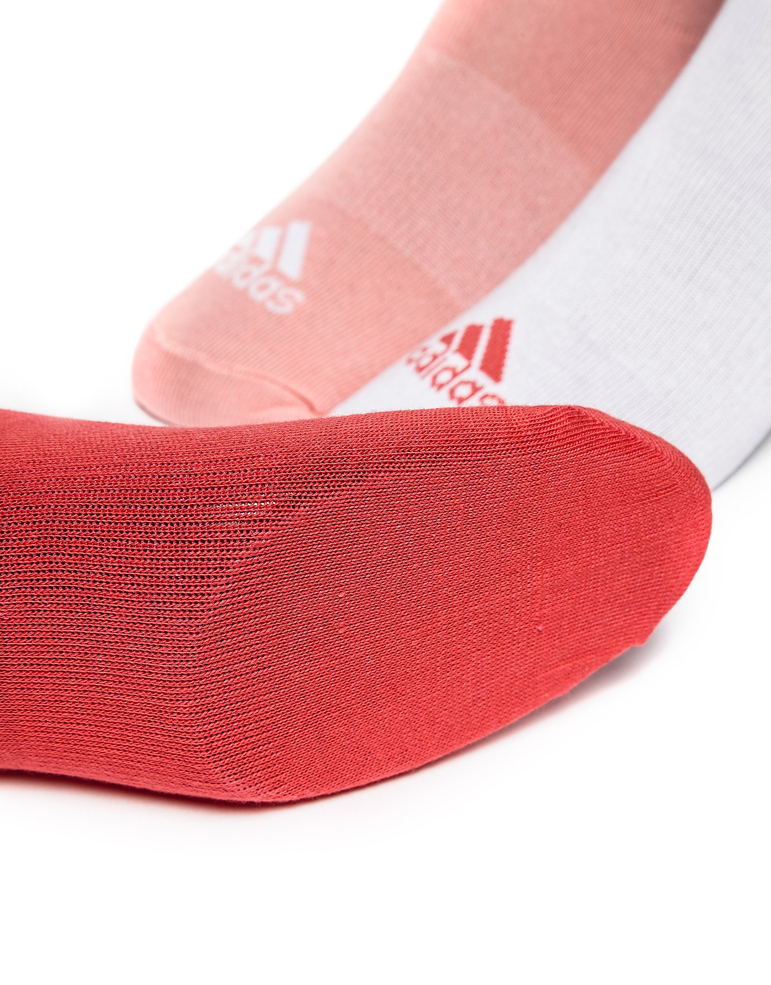 adidas 3 Pack Sport Invisible Socks