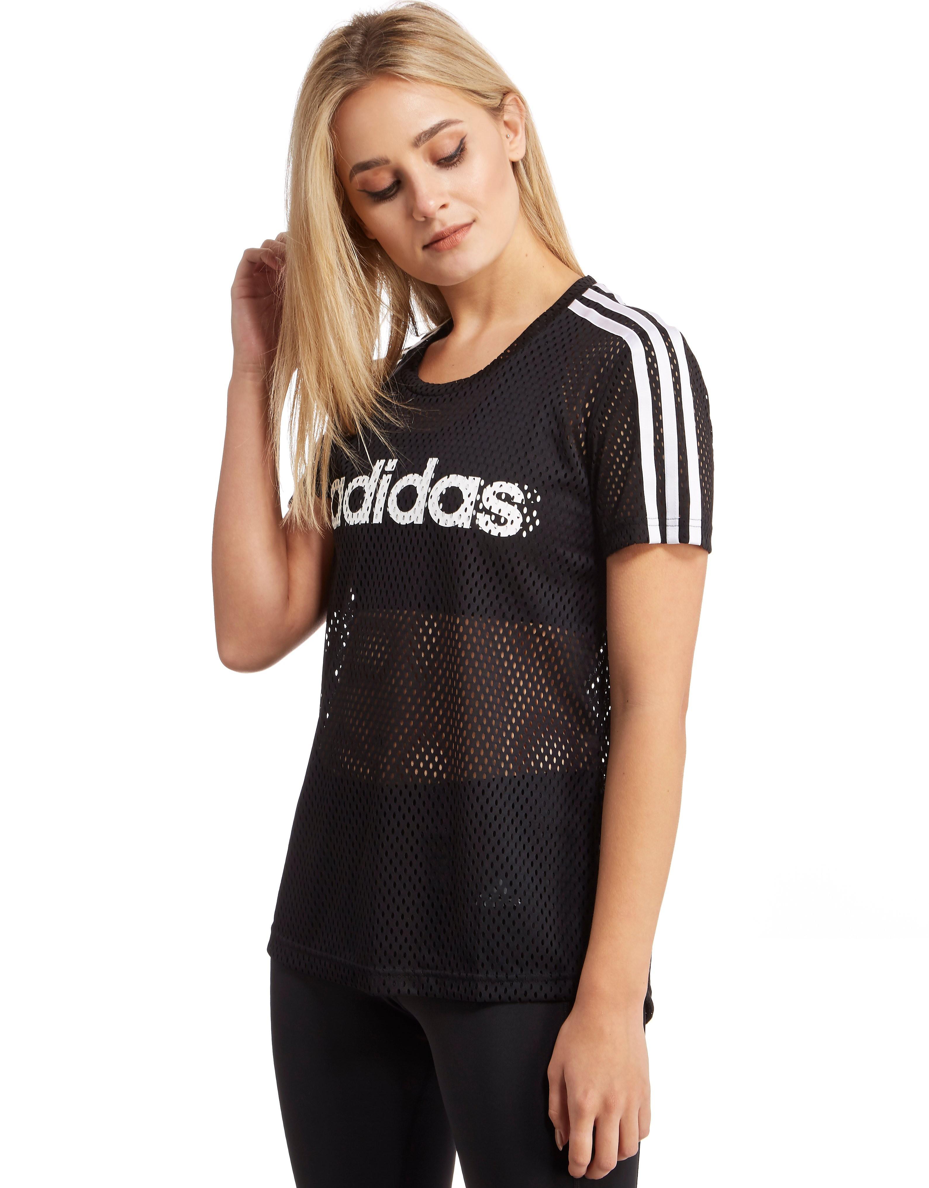 adidas Linear Mesh T-Shirt