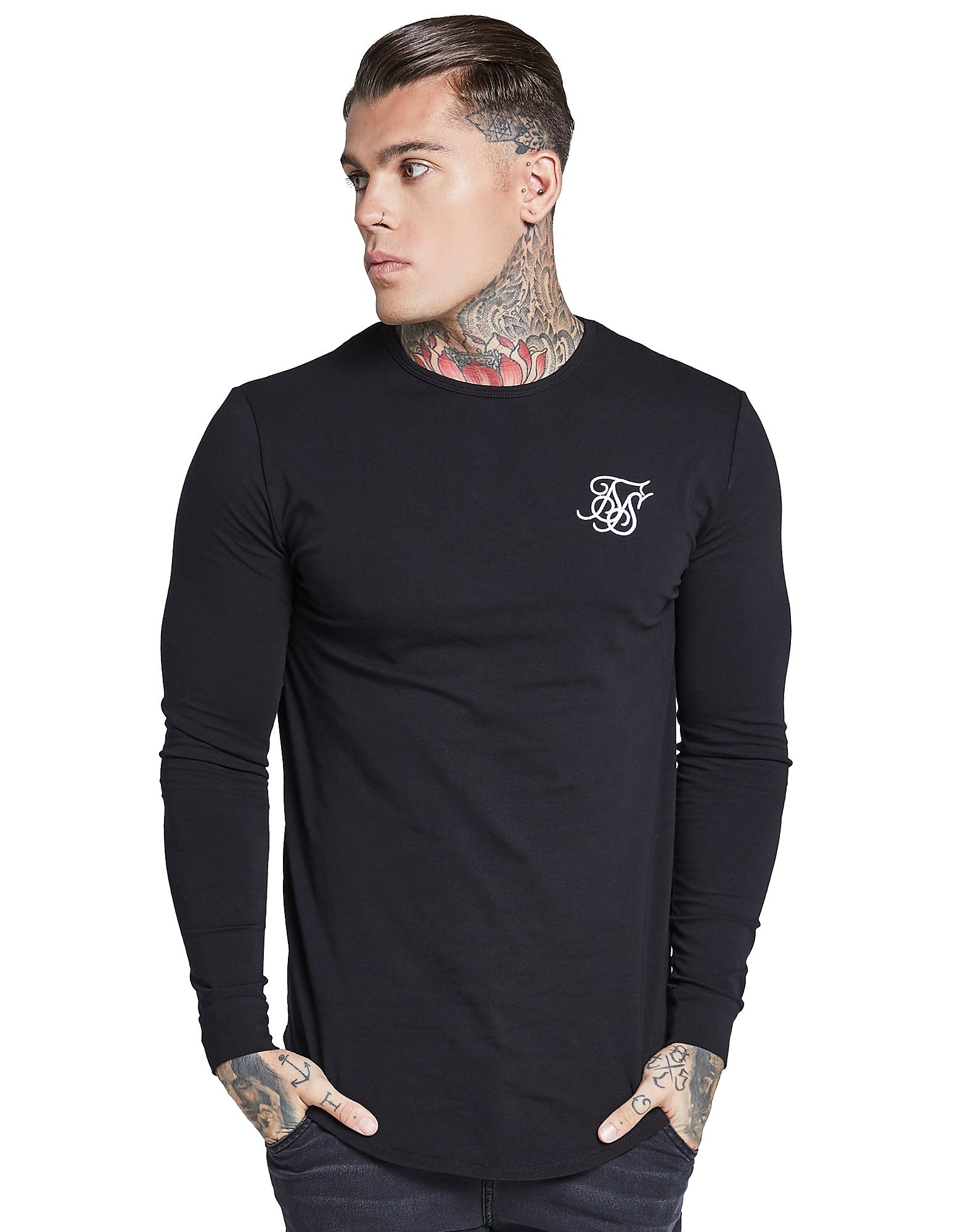 SikSilk camiseta de manga larga Core