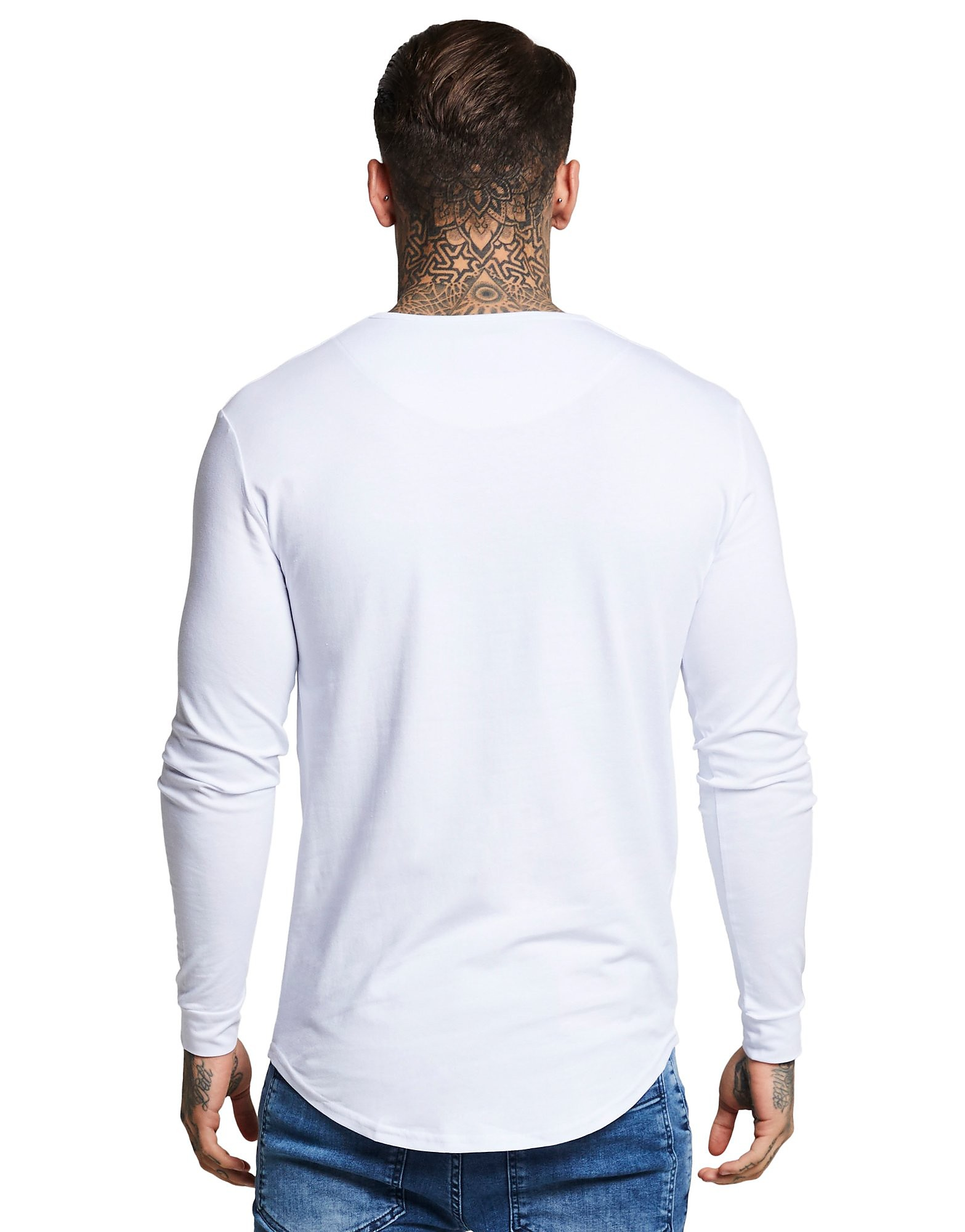 SikSilk Long Sleeve Core T-Shirt Heren