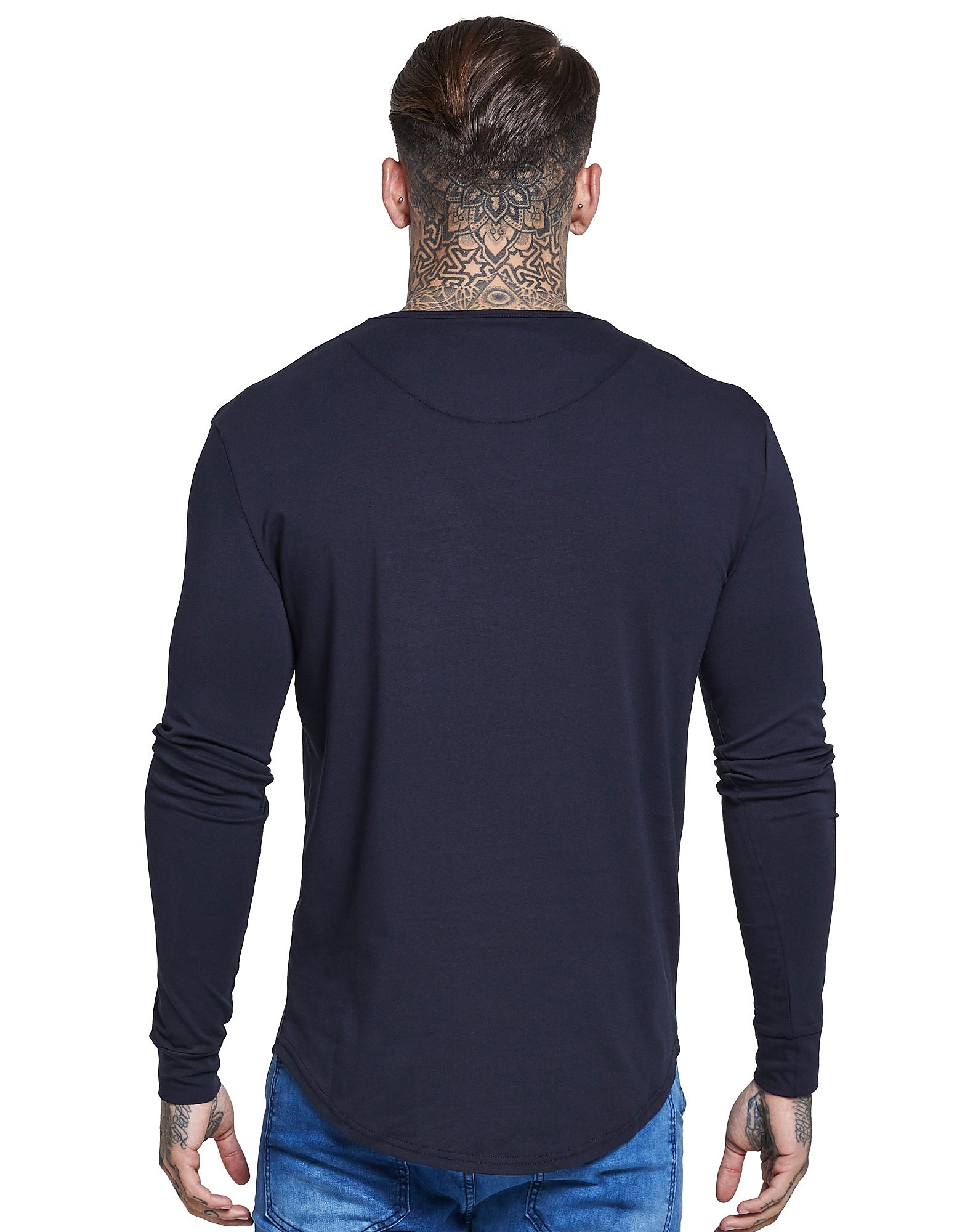 SikSilk T-shirt Long Sleeve Core Homme