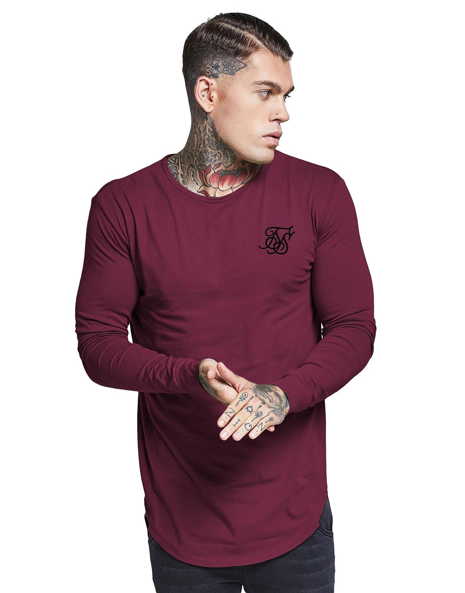SikSilk Long Sleeve Core T-Shirt