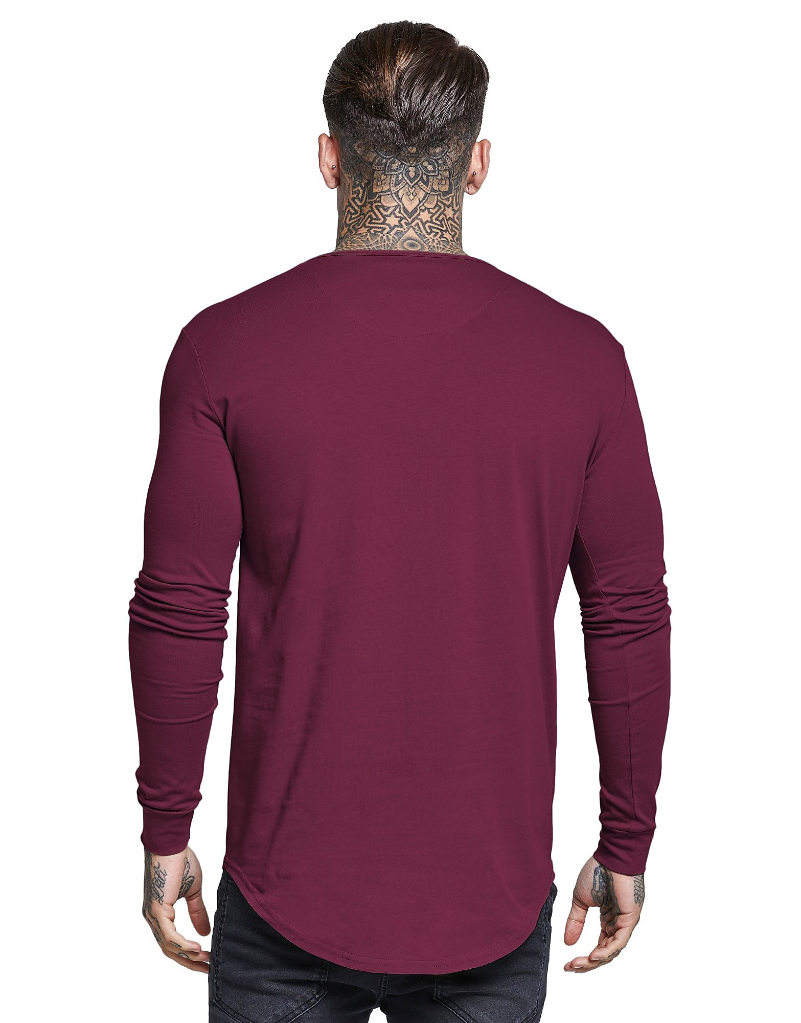SikSilk T-shirt Long Sleeve Core Homme