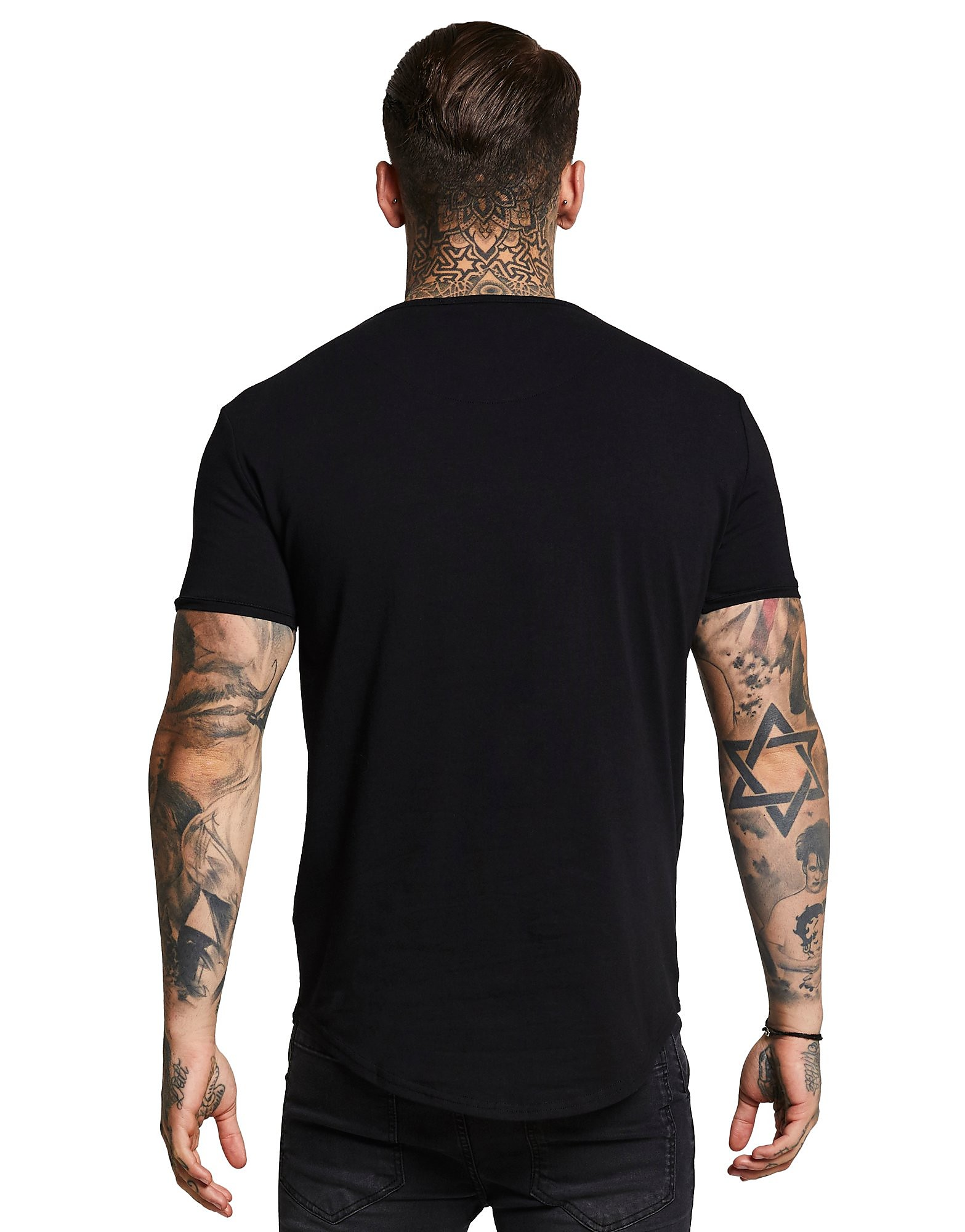 SikSilk Core Curve T-Shirt Heren