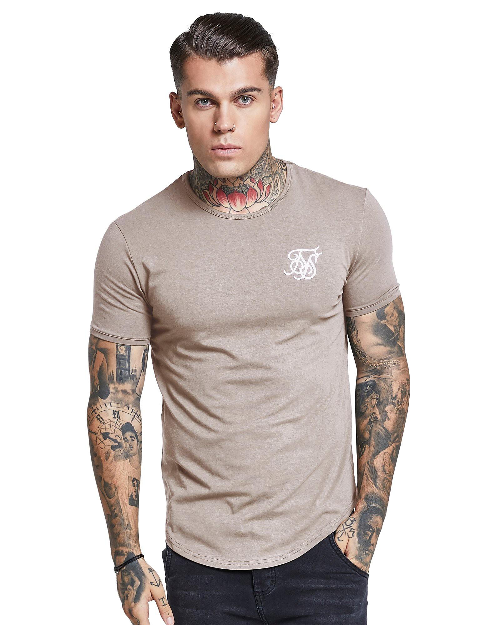 SikSilk Core Curve T-Shirt Homme