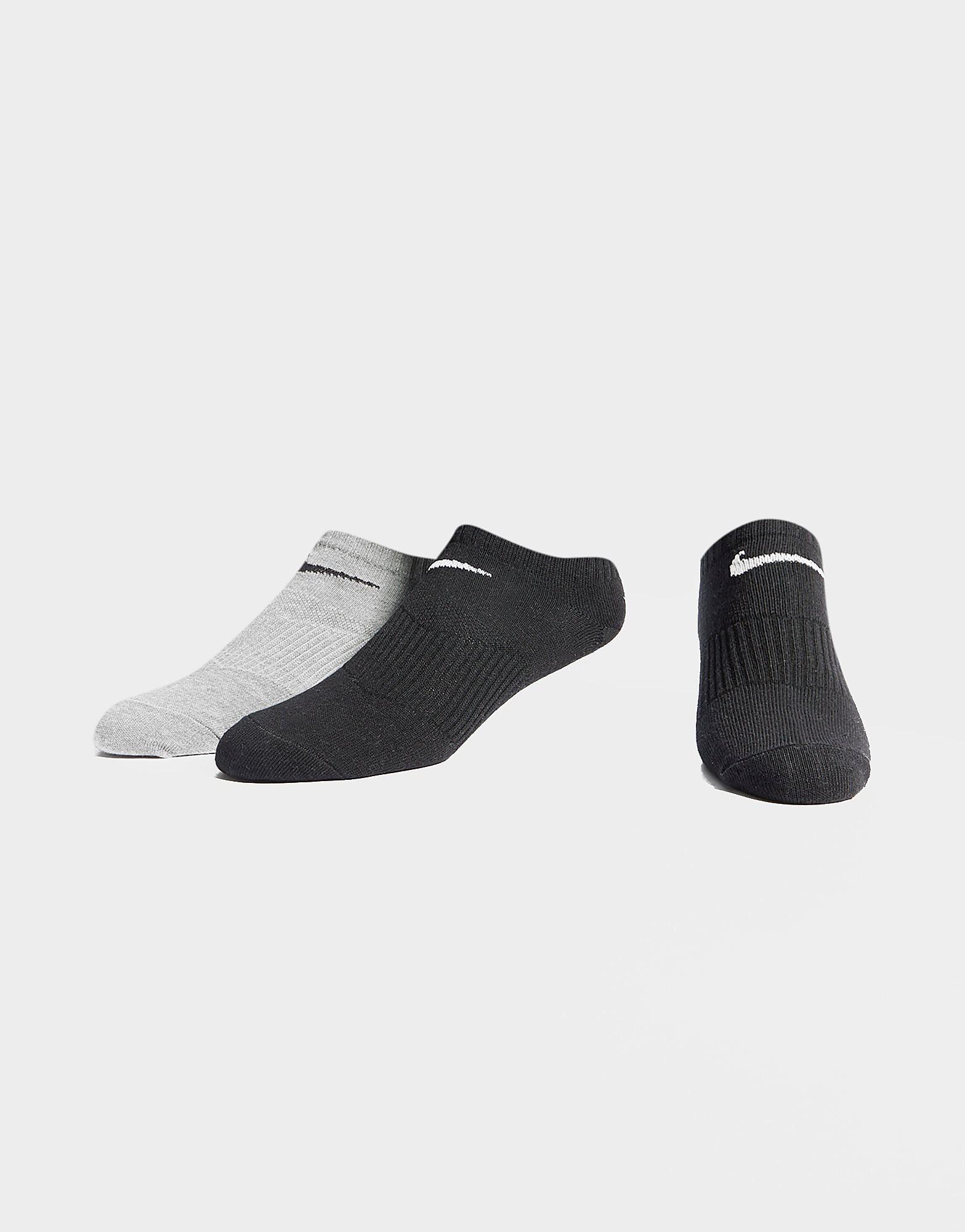 Nike Pak met 3 paar Basic Cuff-sokken - Wit - Heren