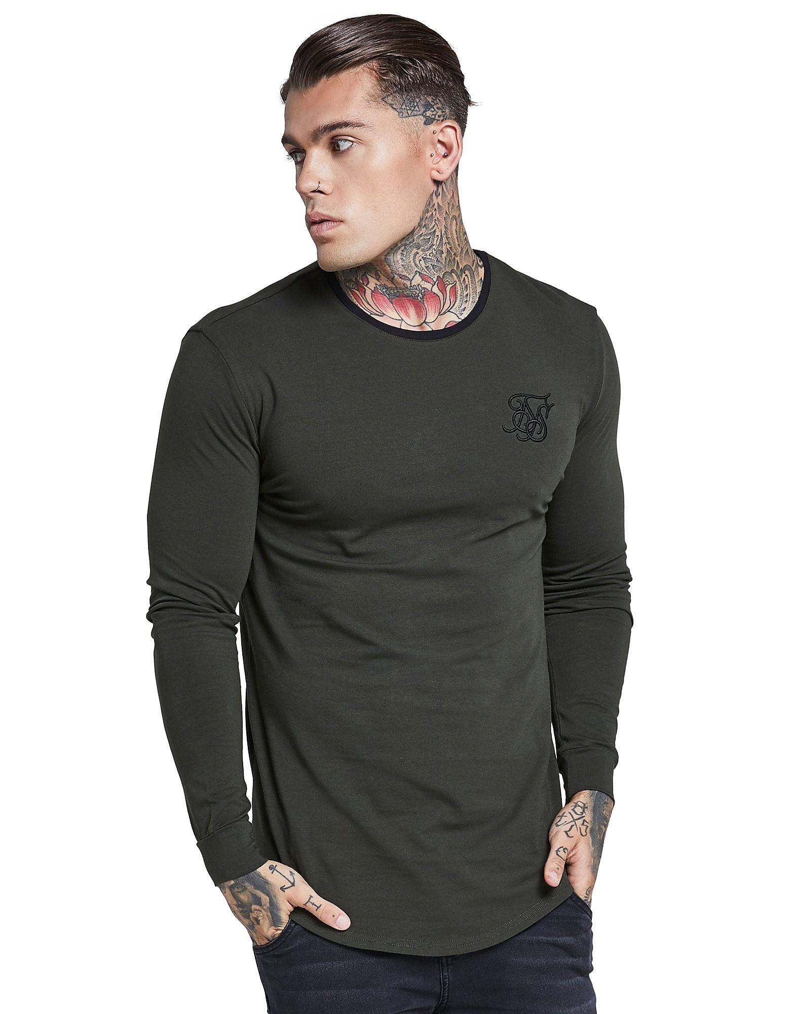 SikSilk Long Sleeve Ringer T-Shirt