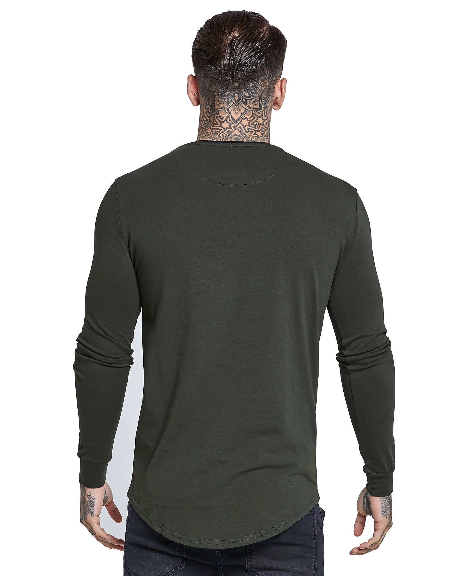 SikSilk Long Sleeve Ringer T-Shirt