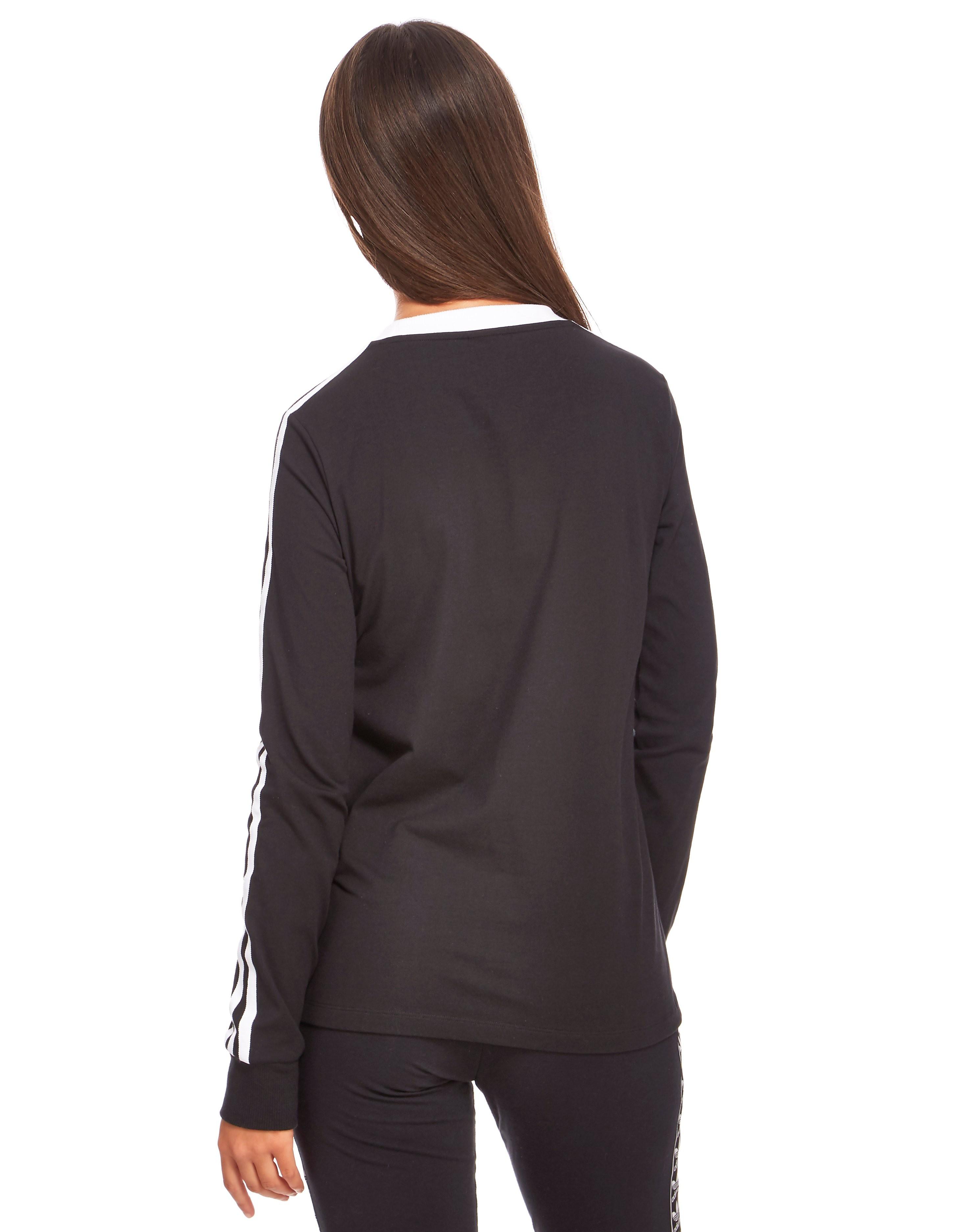 adidas Originals 3 Stripes Long-Sleeved T-Shirt