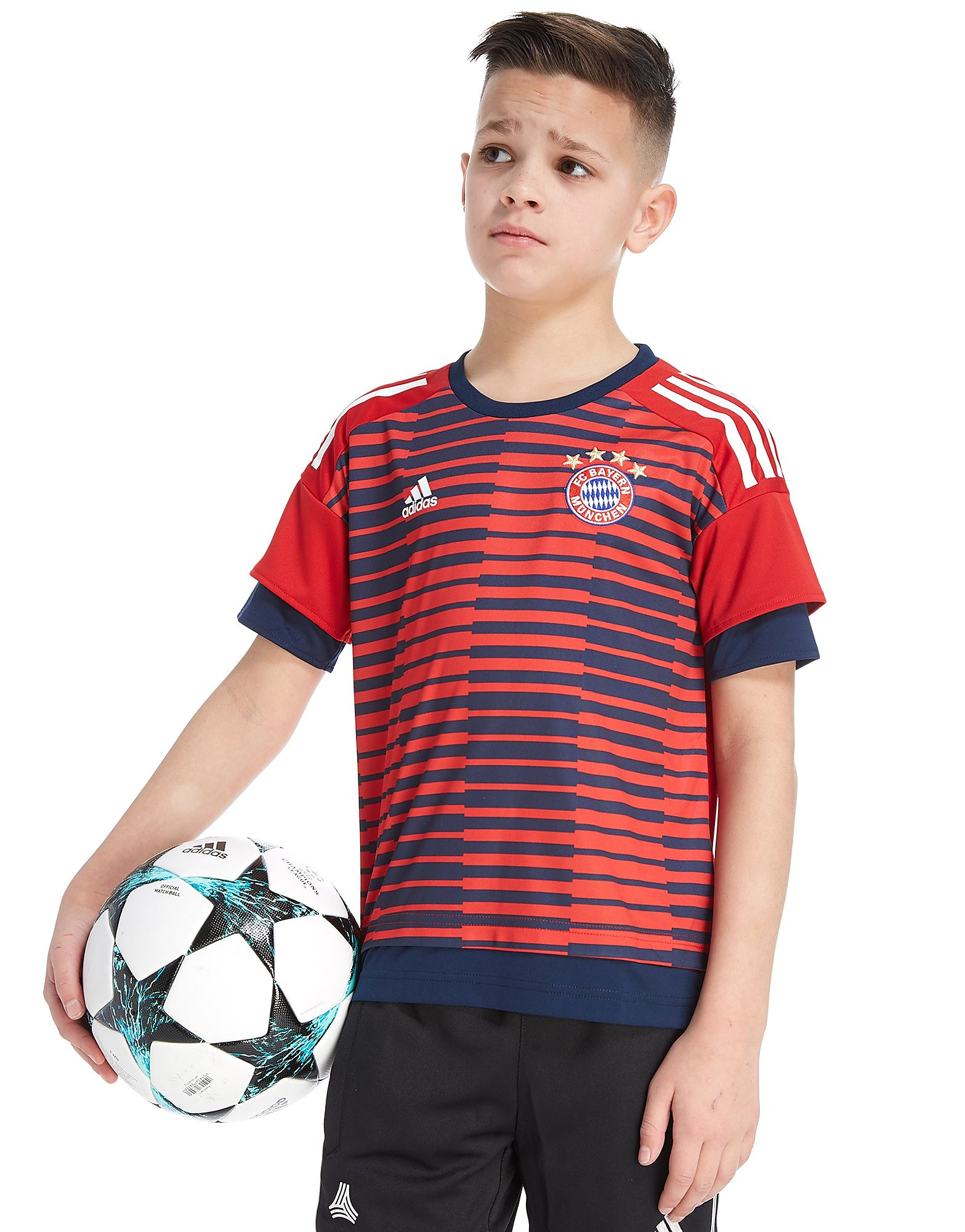 adidas FC Bayern Munich 2018 Pre Match Shirt Junior