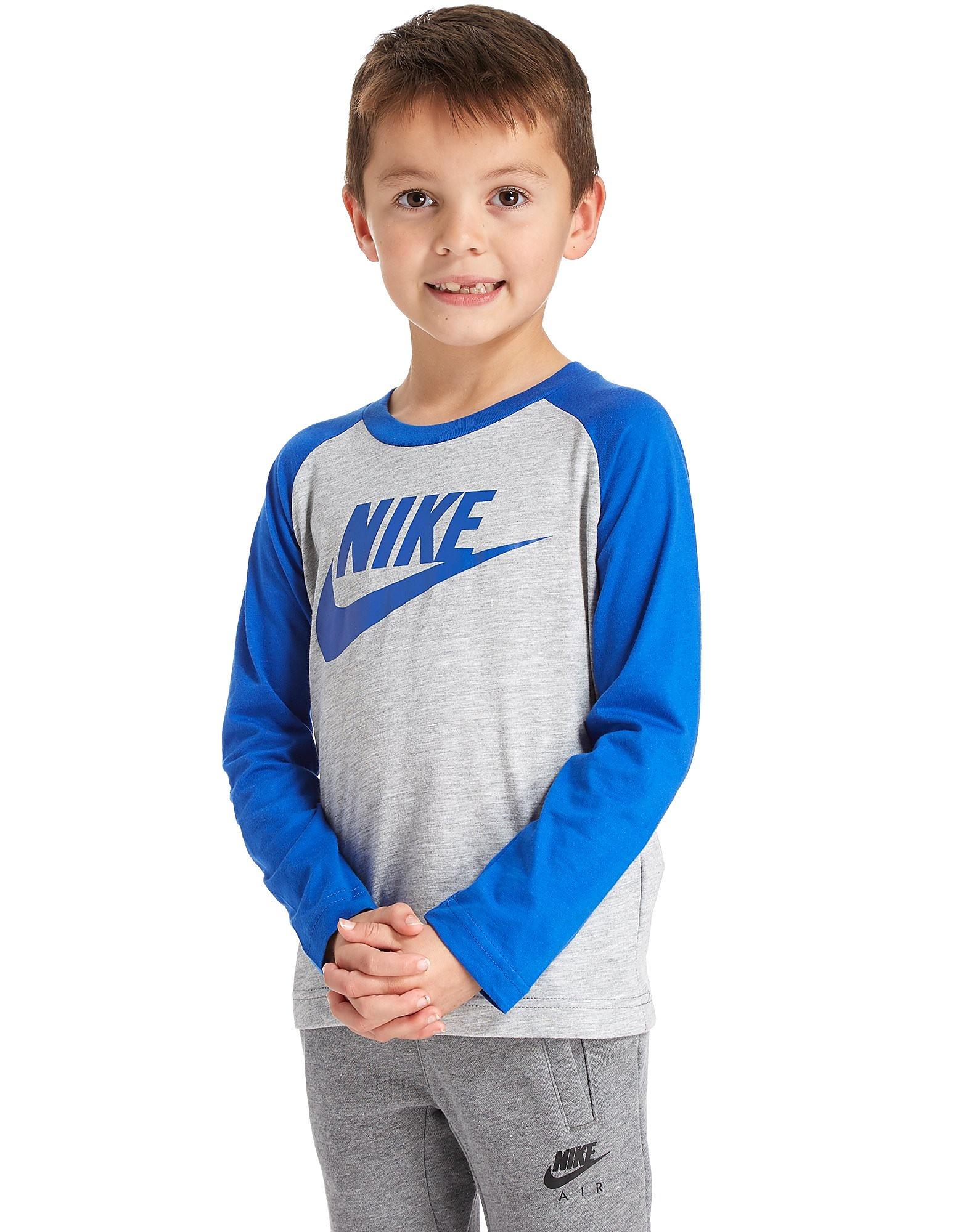 Nike camiseta de manga larga Futura Raglan infantil