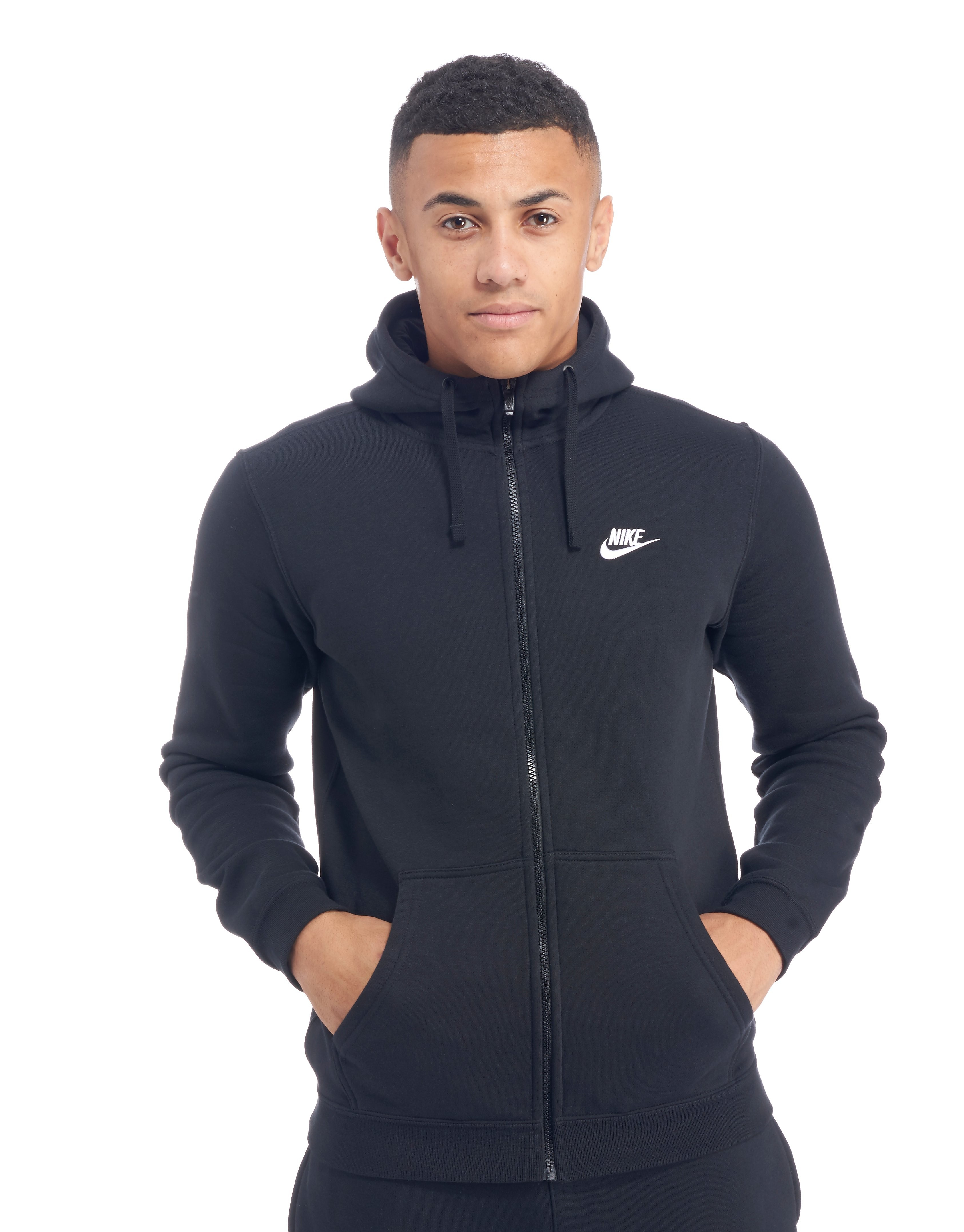 Nike Foundation Fleece Full Zip Hoodie