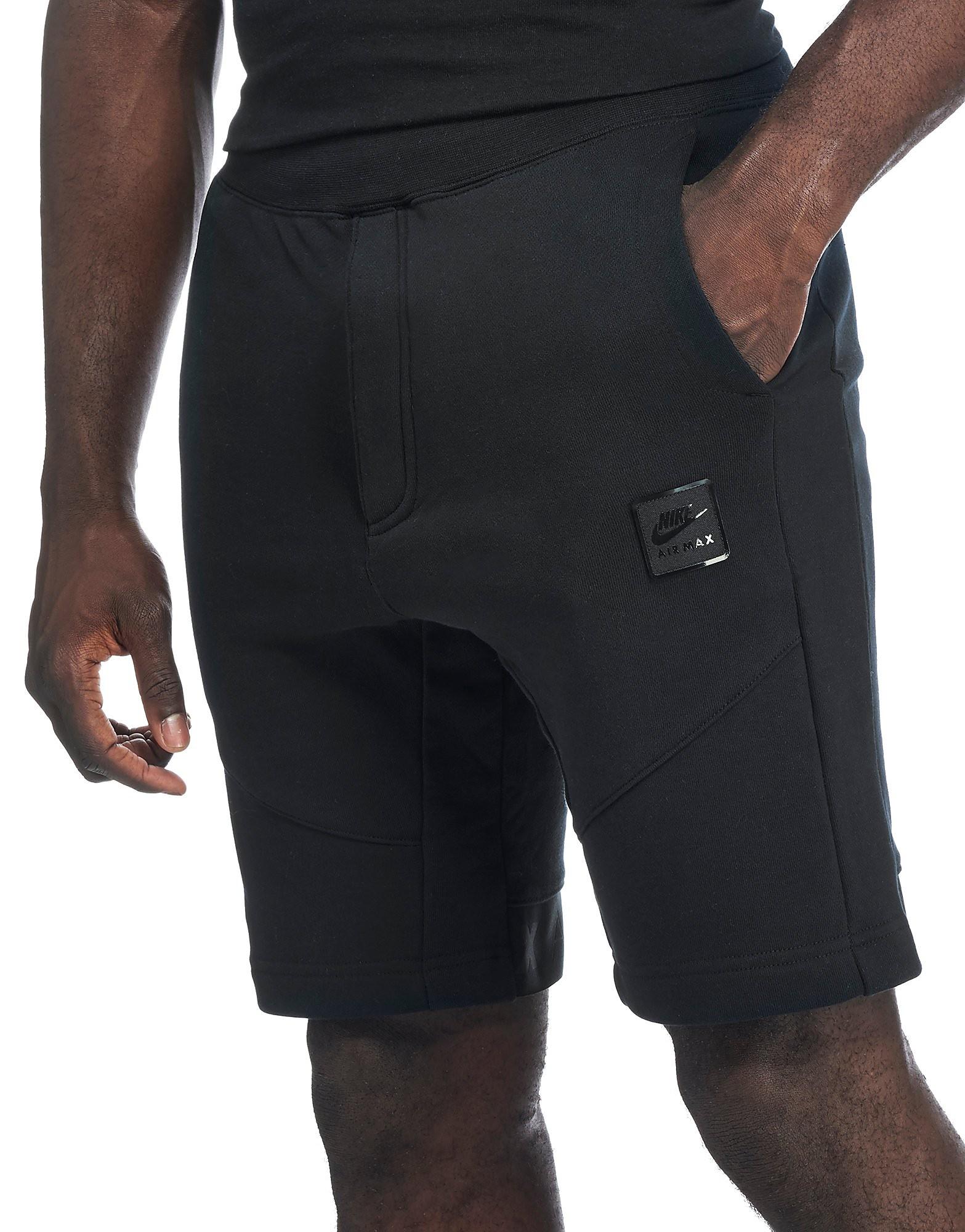 Nike Air Max Shorts Black Mens Sports King Store