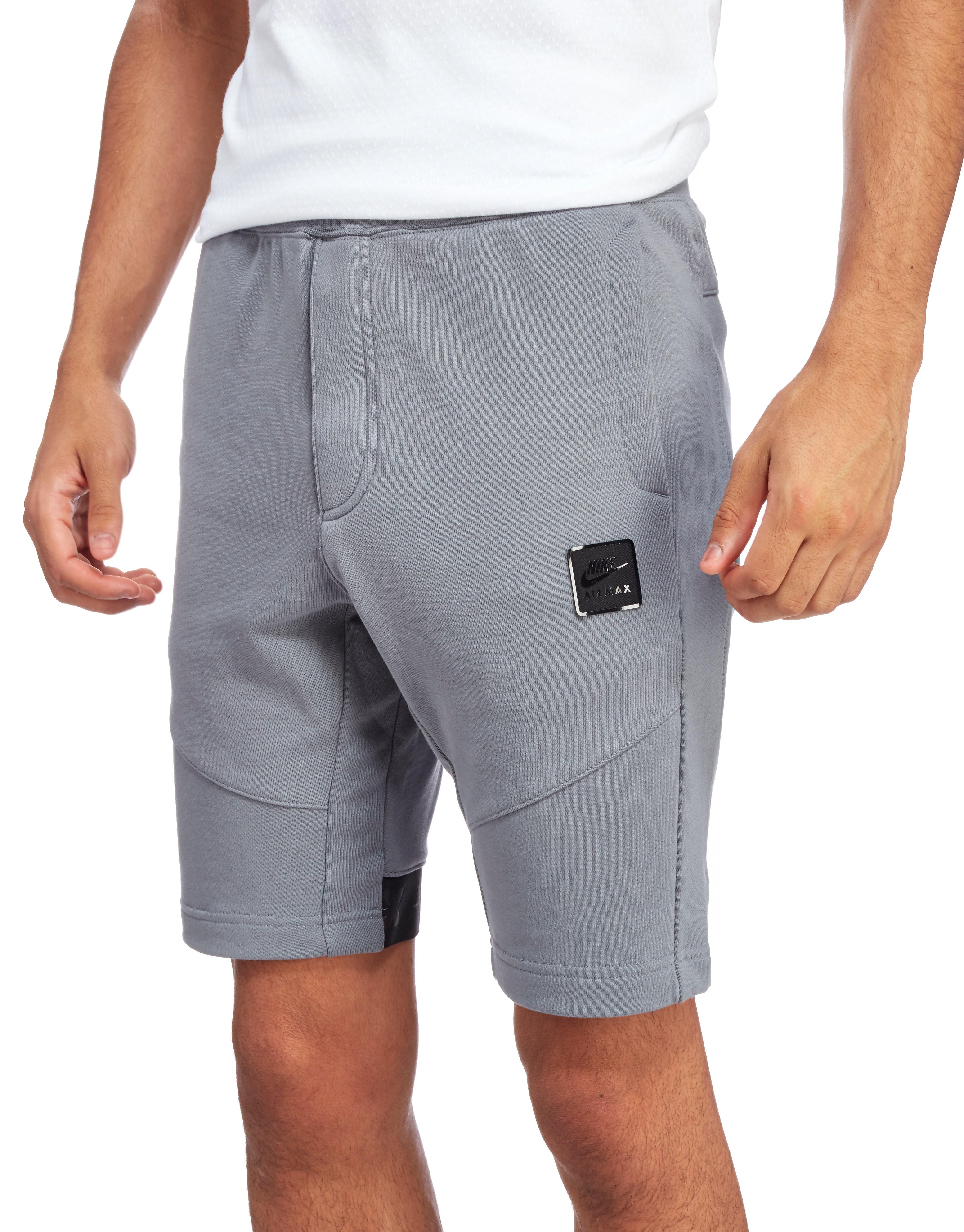 Nike Air Max Shorts Charcoal Grey Mens Sports King Store